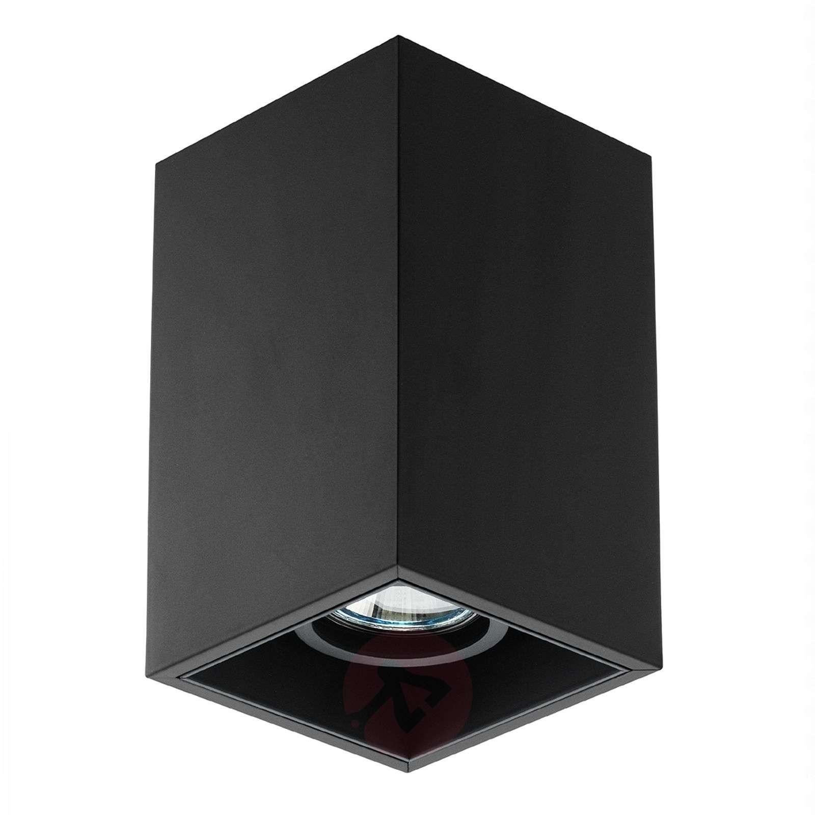 1-lamppuinen Compass Box S-kattovalaisin, musta-3510237-01