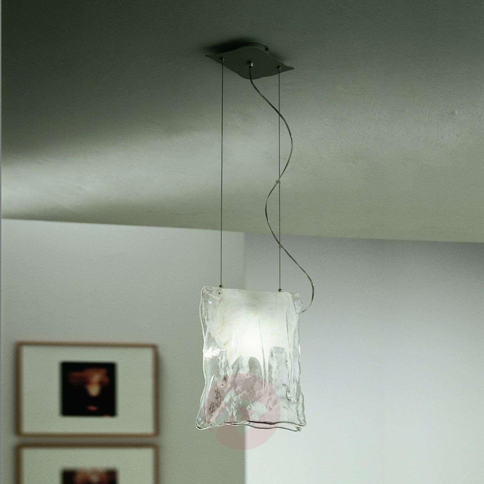 1-lamppuinen MURANO-riippuvalaisin, 2 kokoa-8510320X-01