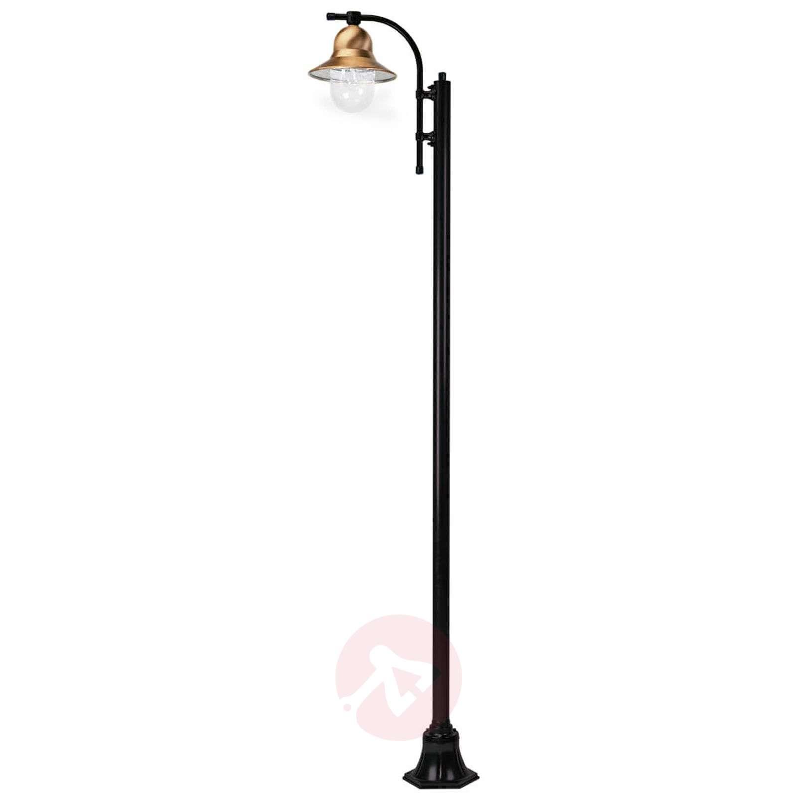 1-lamppuinen Toscane-lyhtypylväs 240 cm, musta-5515173-02