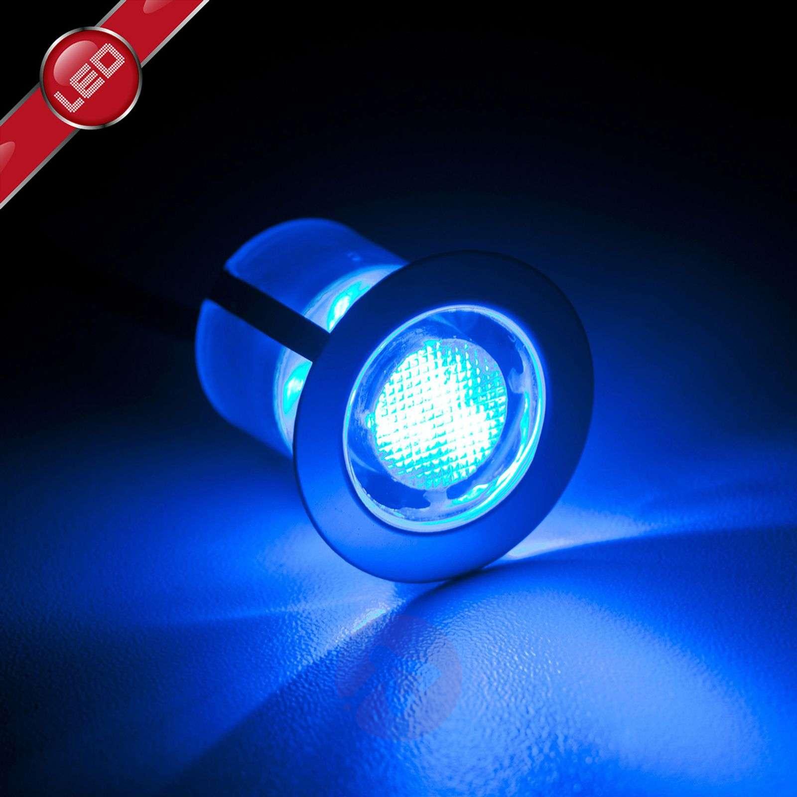 10 kpl:n setti Cosas-LED-uppovalaisimia, sininen-1507143-01