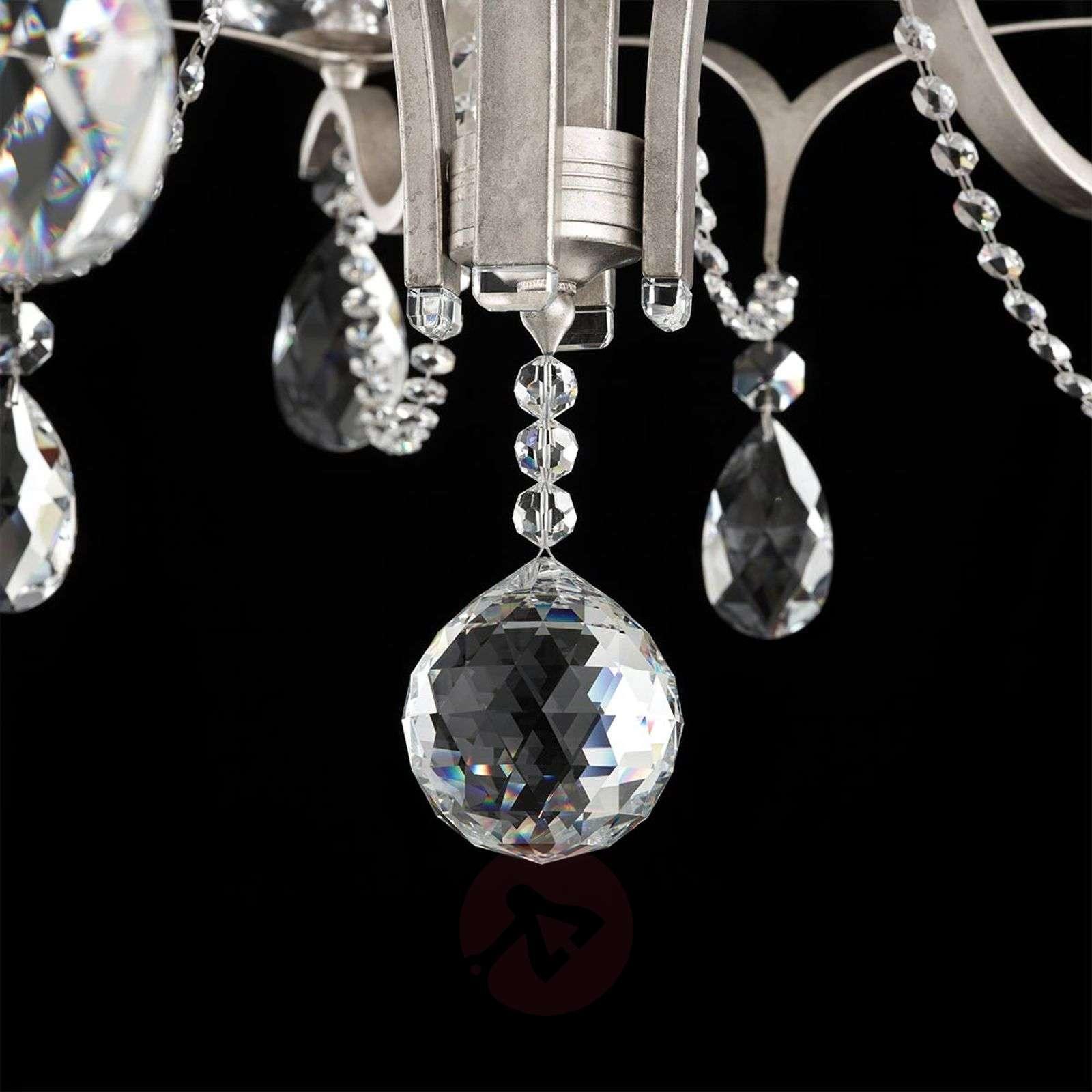 12-lamppuinen kattokruunu Vesca kristalliriip.-8583064-01