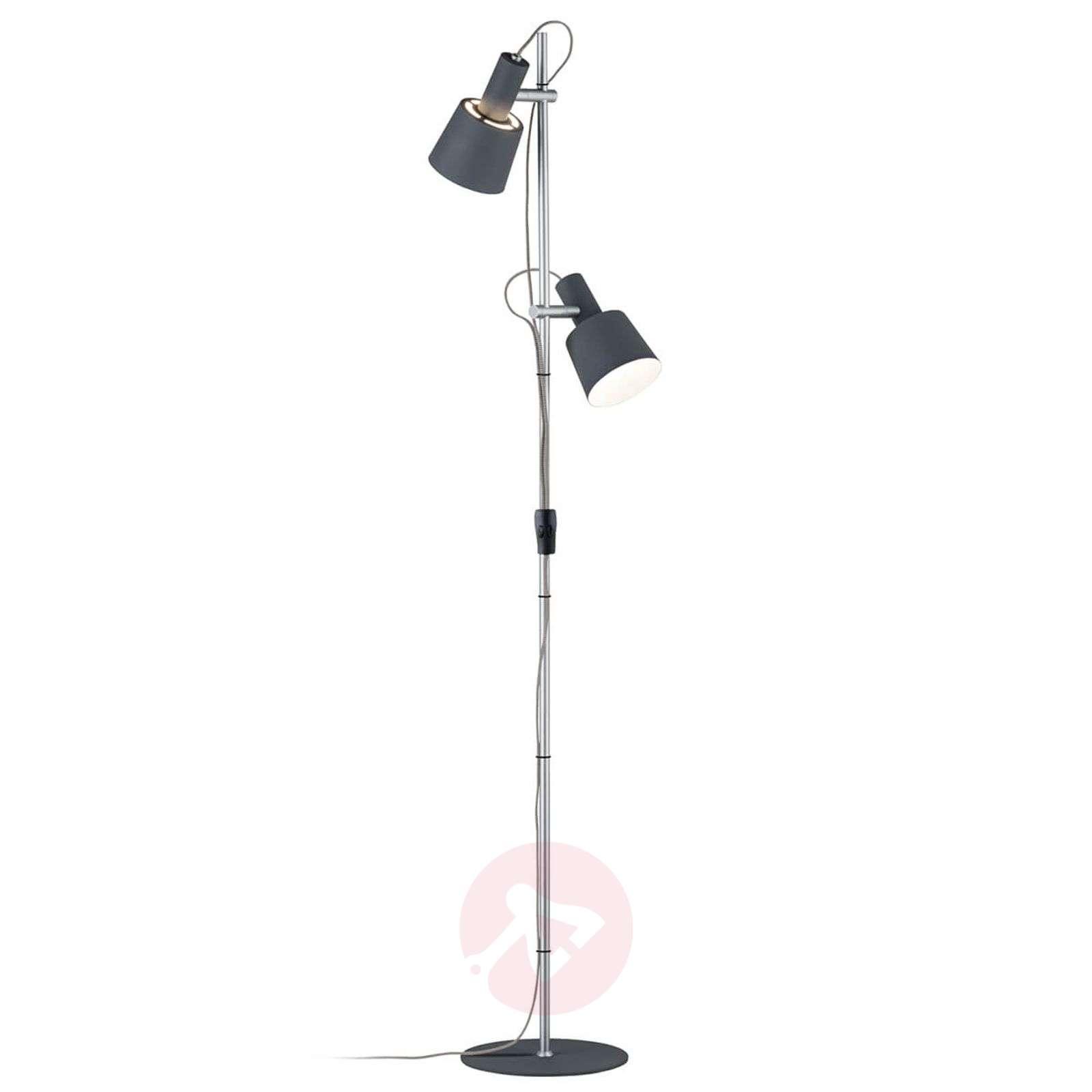 2-lamppu-lattiavalaisin Haldar, väriyhdistelmänä-7601069-01