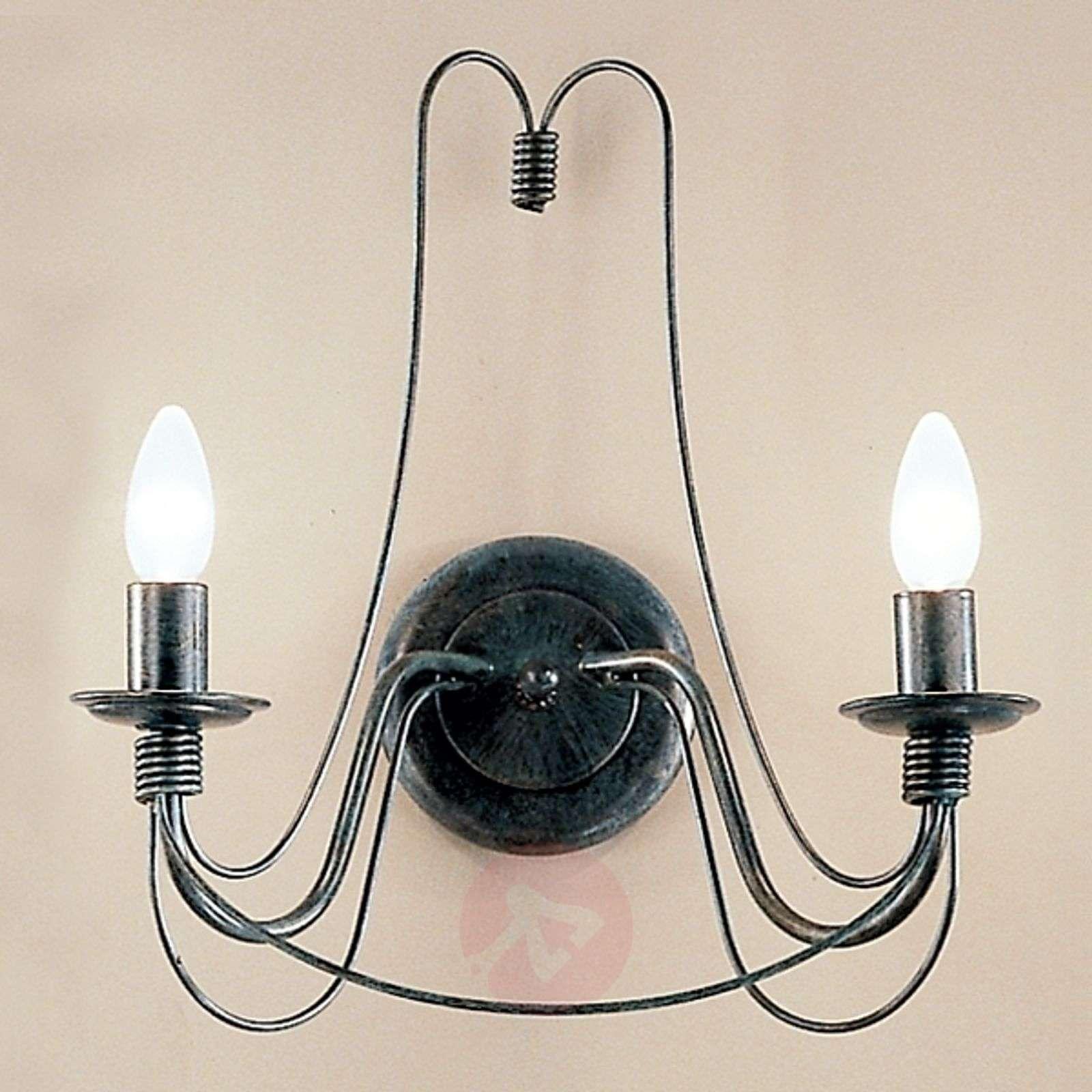 2-lamppuinen kattovalaisin CLARA maalaistyyliin-7253121-01
