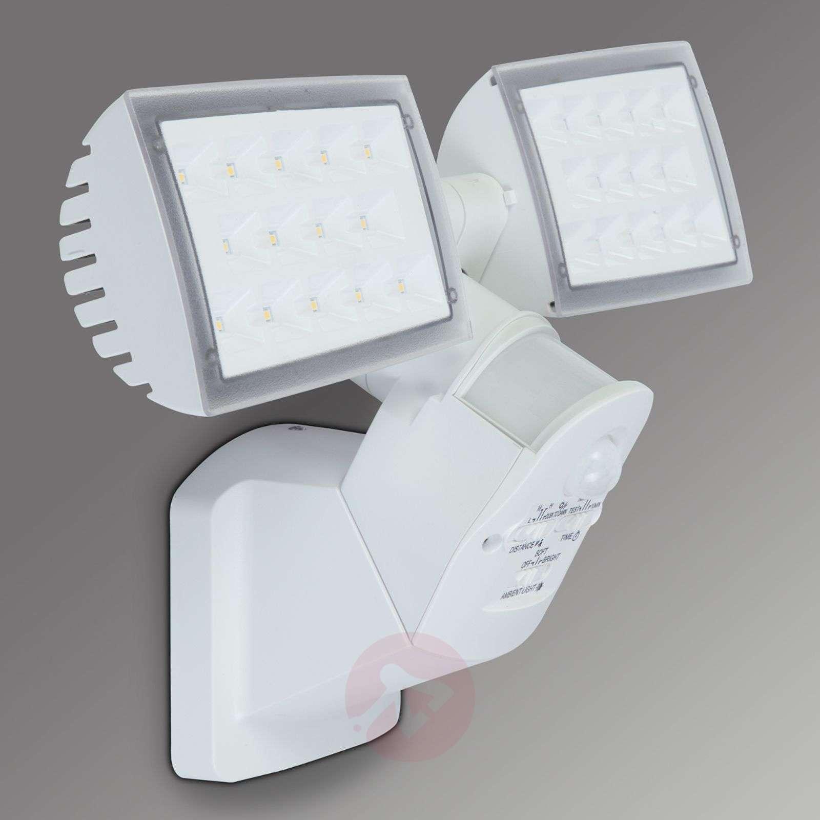 2-lamppuinen LED-ulkoseinävalo Peri, liikeilmaisin-3006328-01