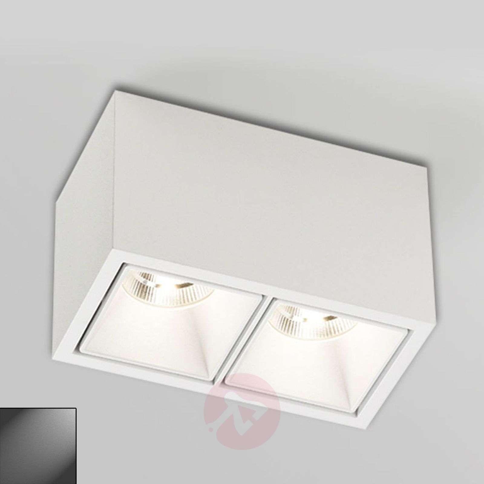 2-osainen Boxy 2+LED 3033-ulkospotti IP53-2520060X-01