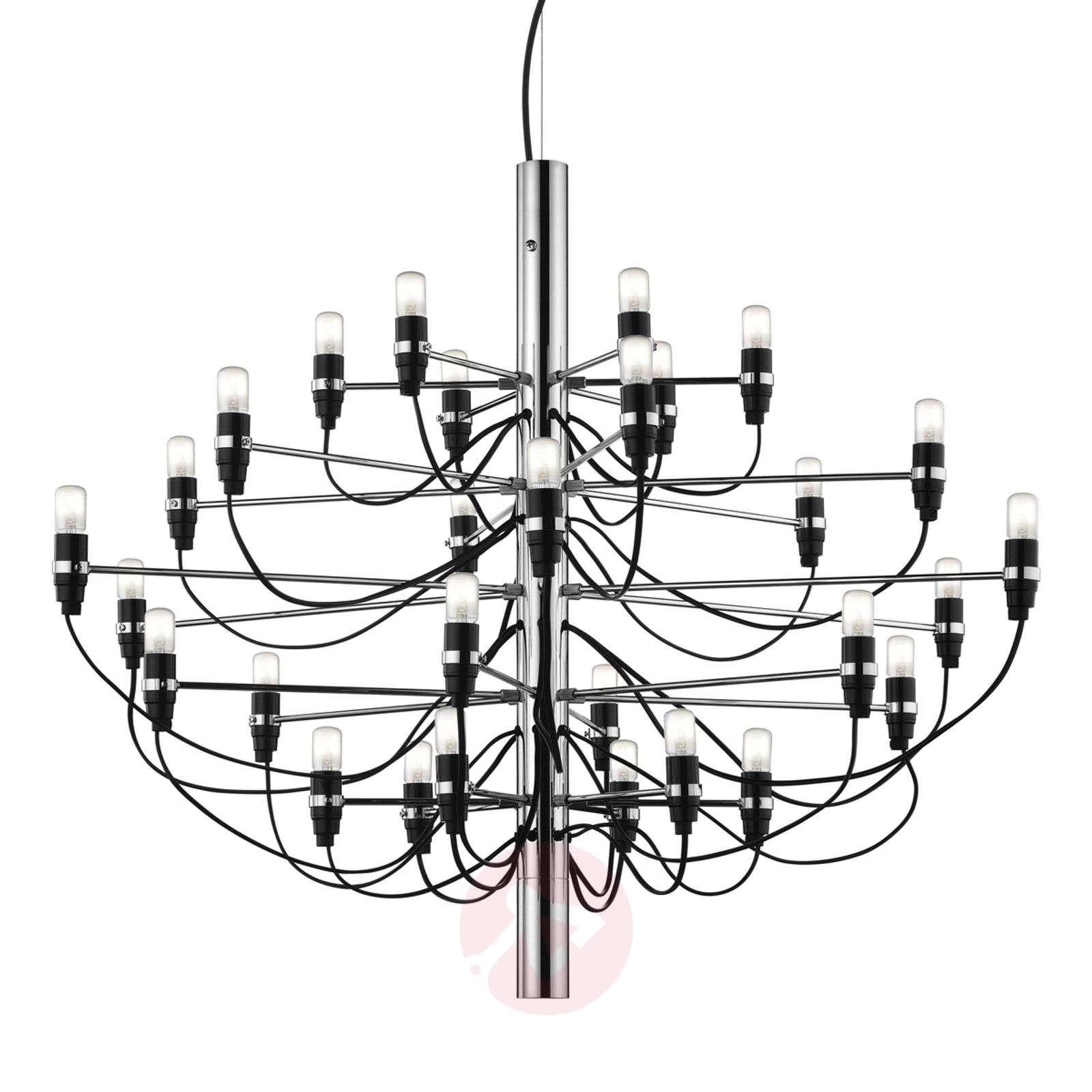 2097 50-lamppuinen kattokruunu, kromi-3510180-02