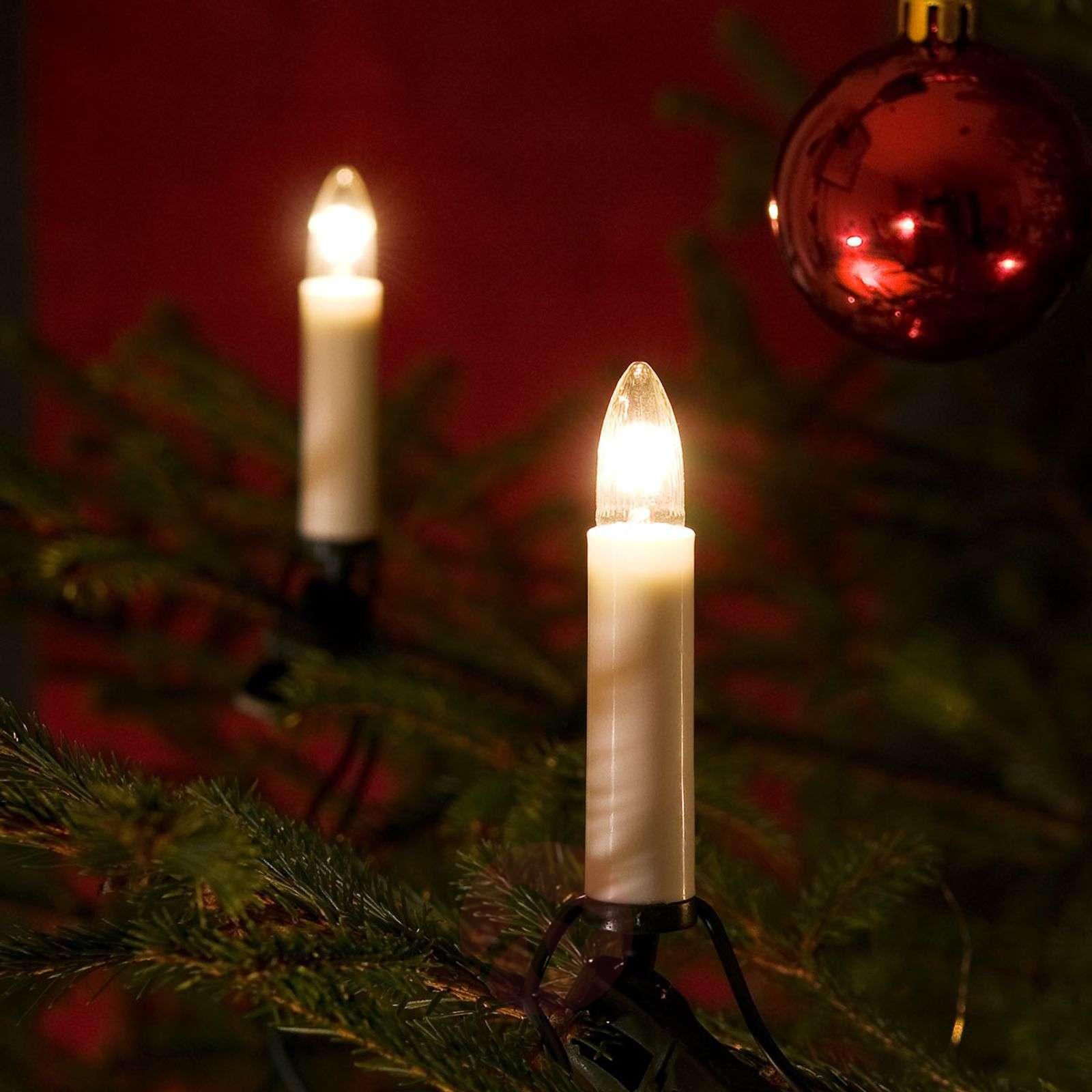 25lampun kuusenketju kynttilälamput sisälle 18,3m-5524156-01