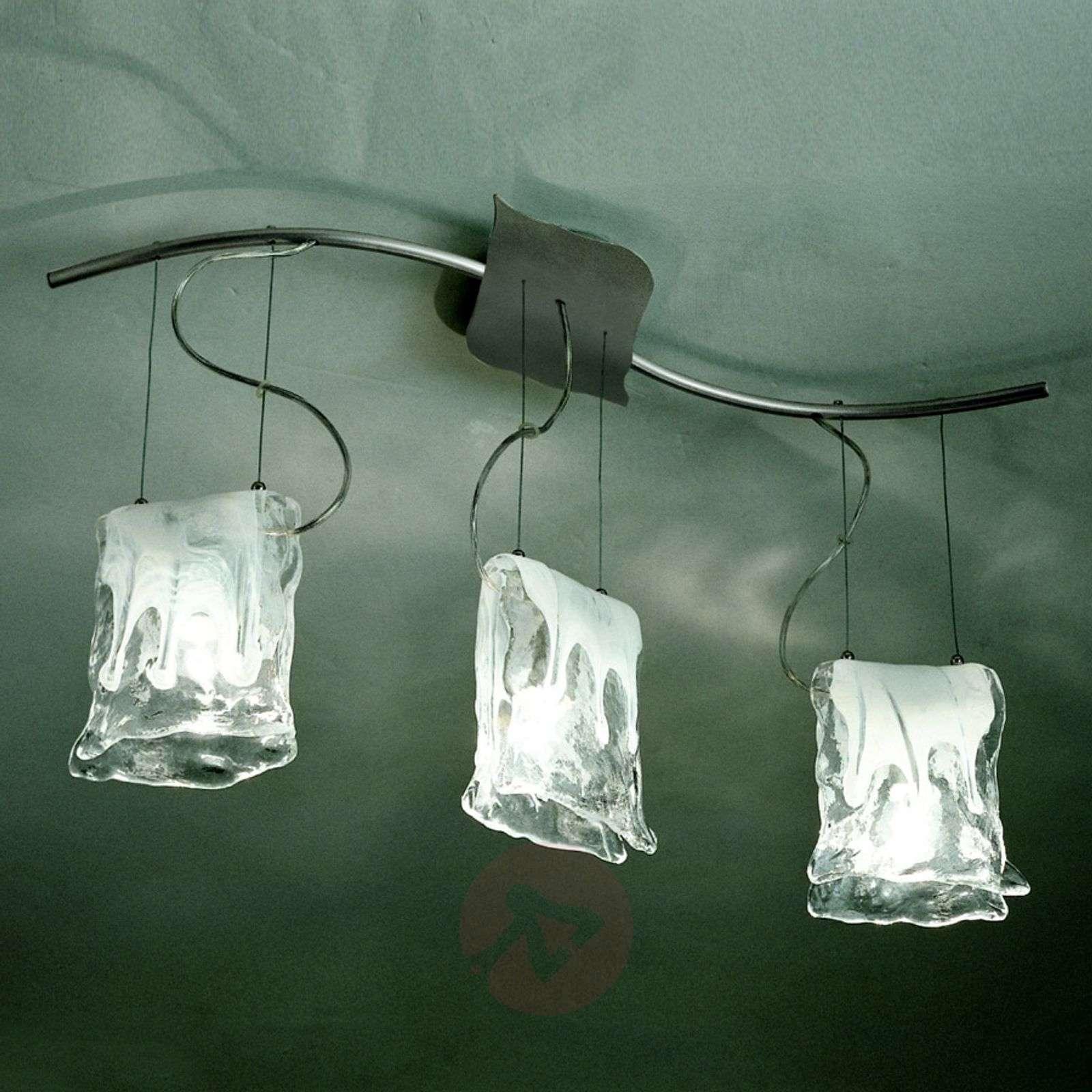 3-lamp. Riippuvalaisin MURANO, alabasterilasilla-8510318-01