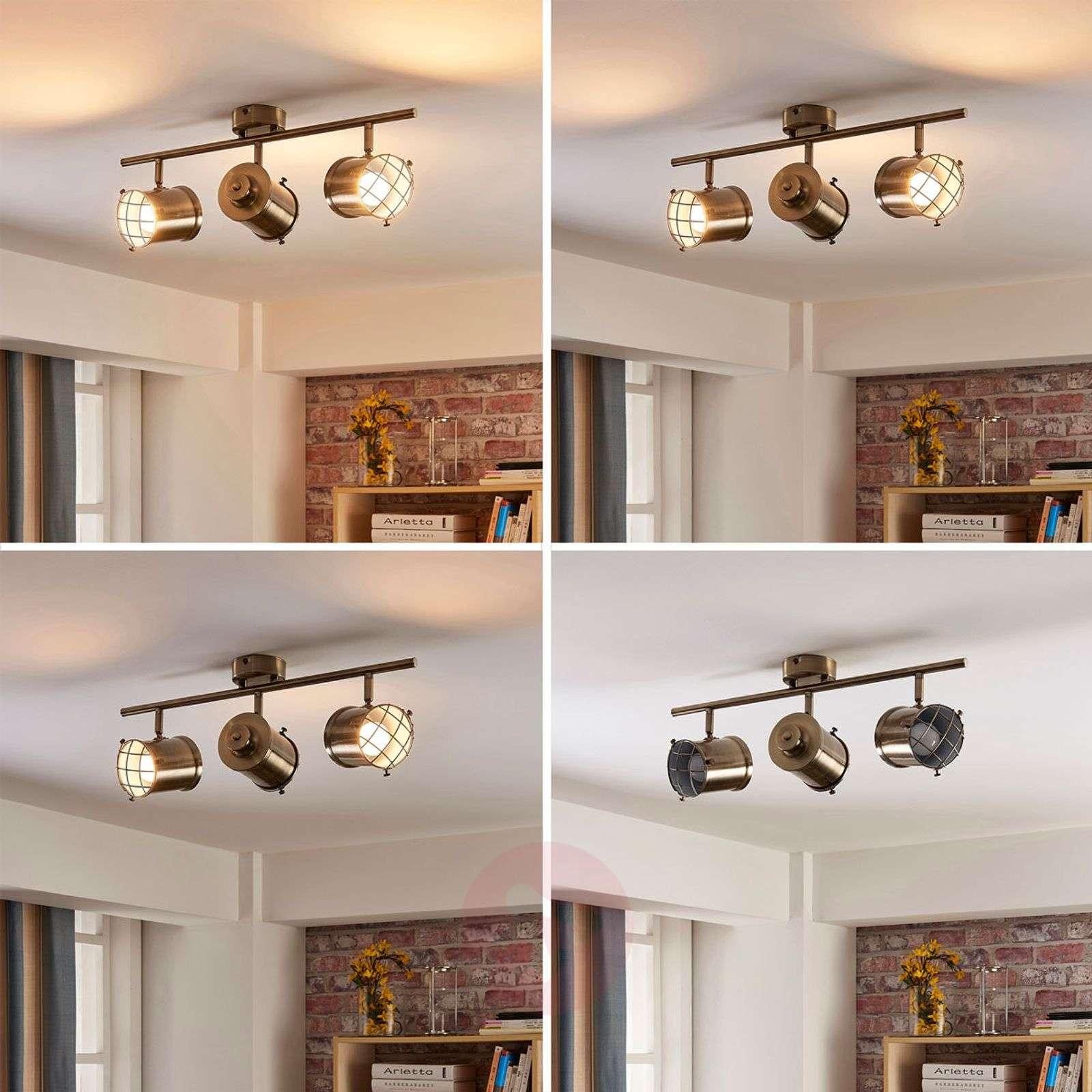 3-lamppuinen Easydim-kattolamppu Ebbi, LEDeillä-9621230-02
