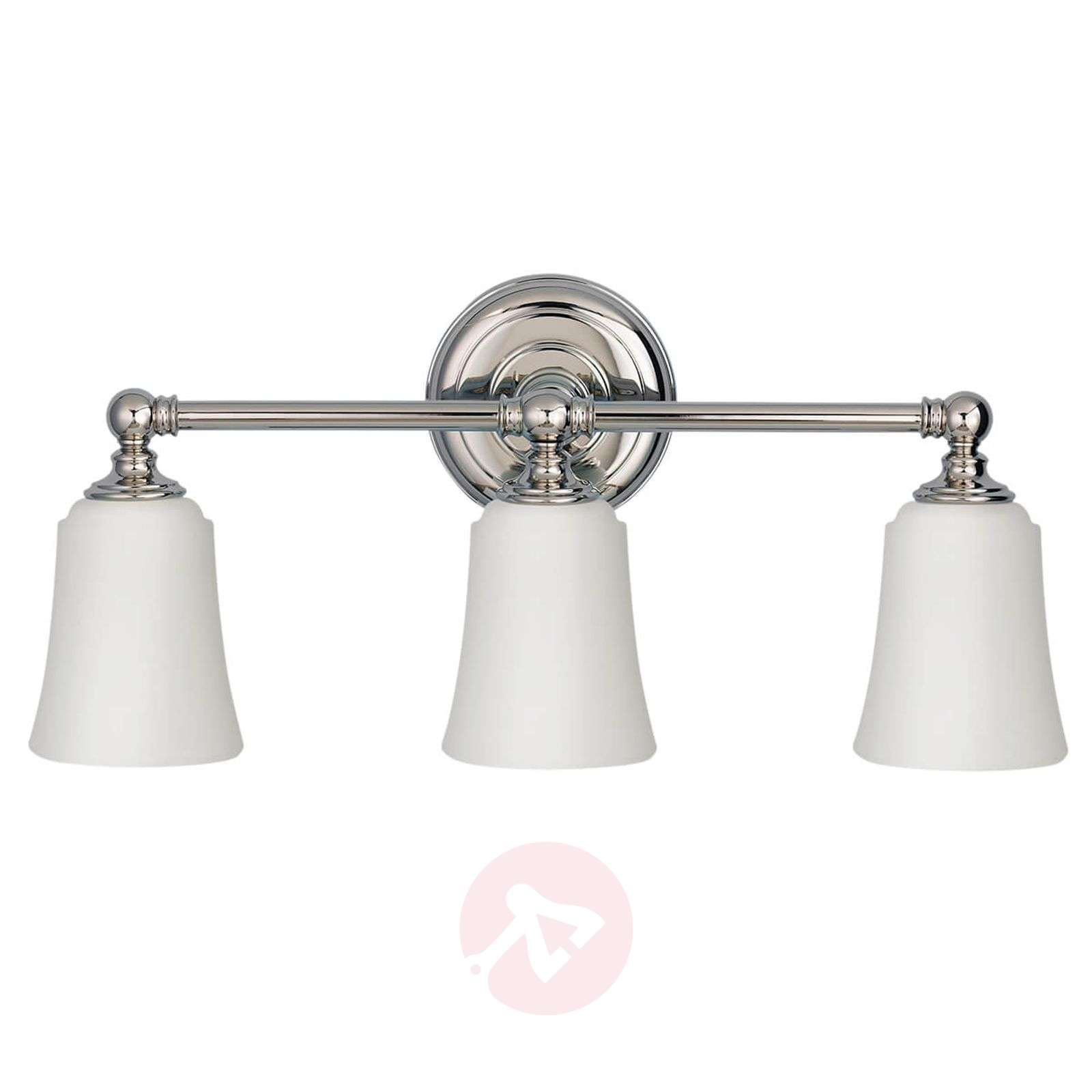 3-lamppuinen Huguenot Lake-kylpyhuoneen seinävalo-3048642-01