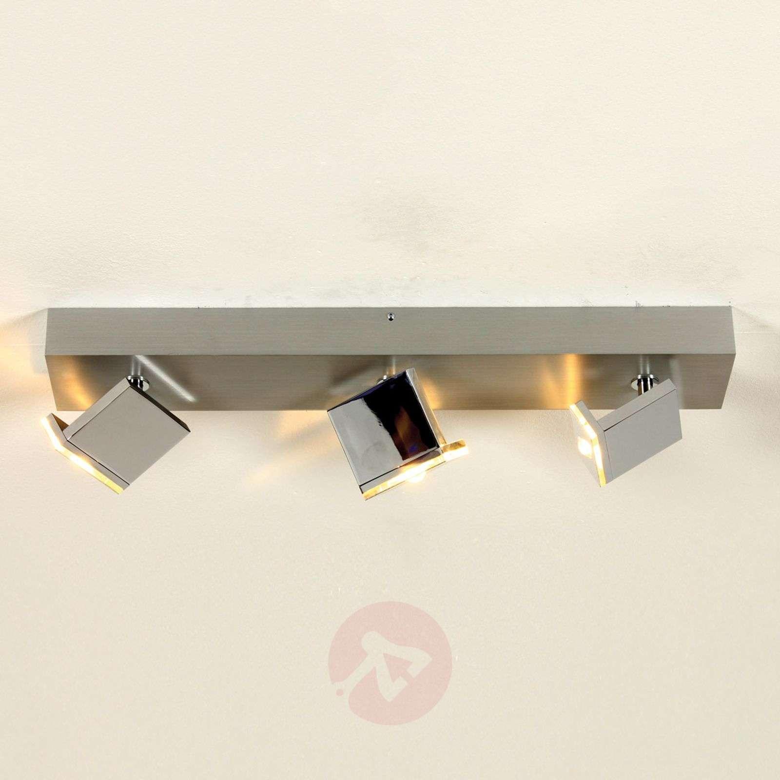 3-lamppuinen LED-kattovalaisin Elle himmennettävä-1556129-01