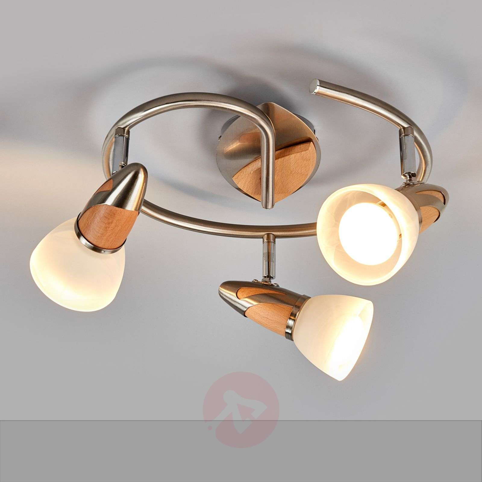 3-lamppuinen LED-kattovalaisin Marena