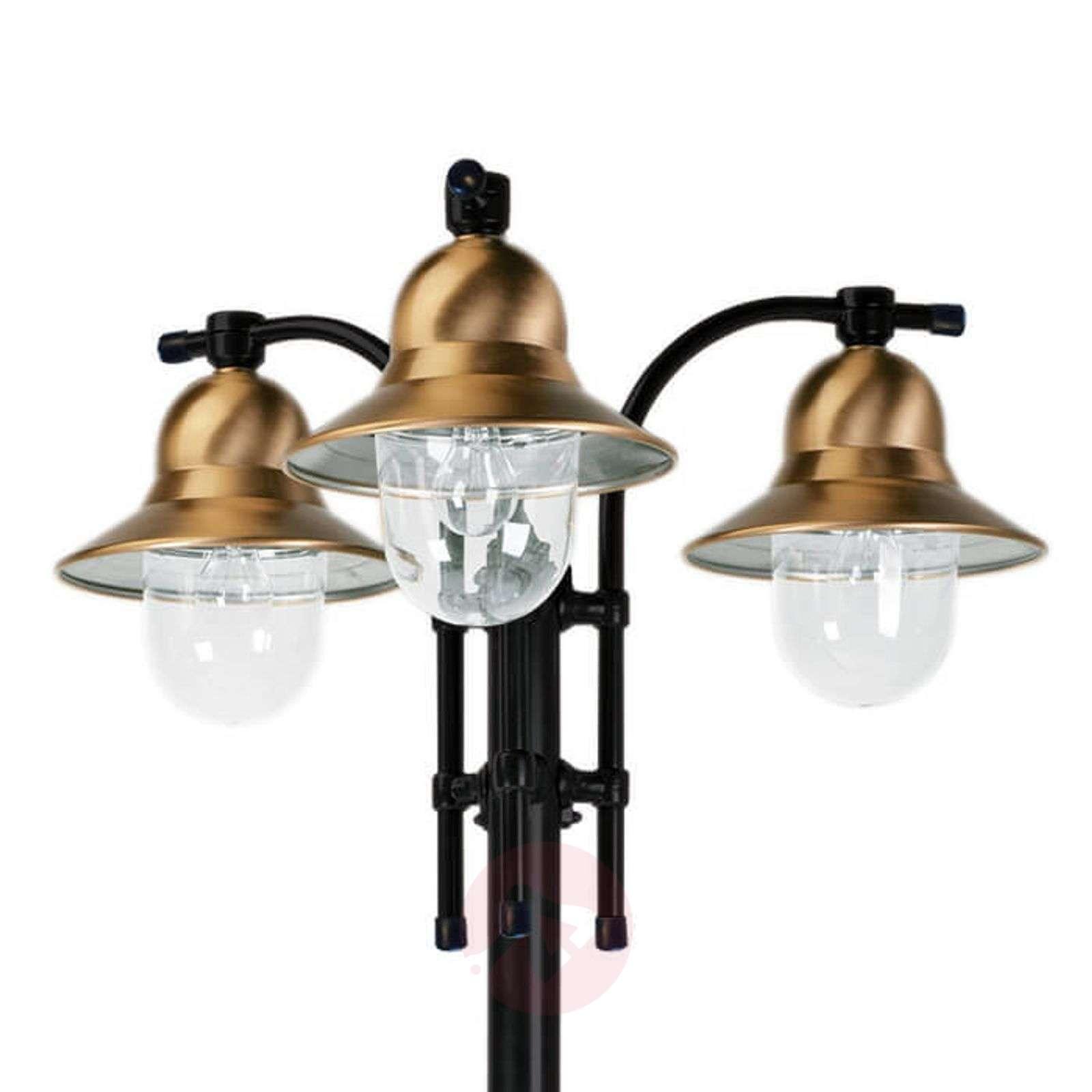 3-lamppuinen Toscane-lyhtypylväs-5515092X-03