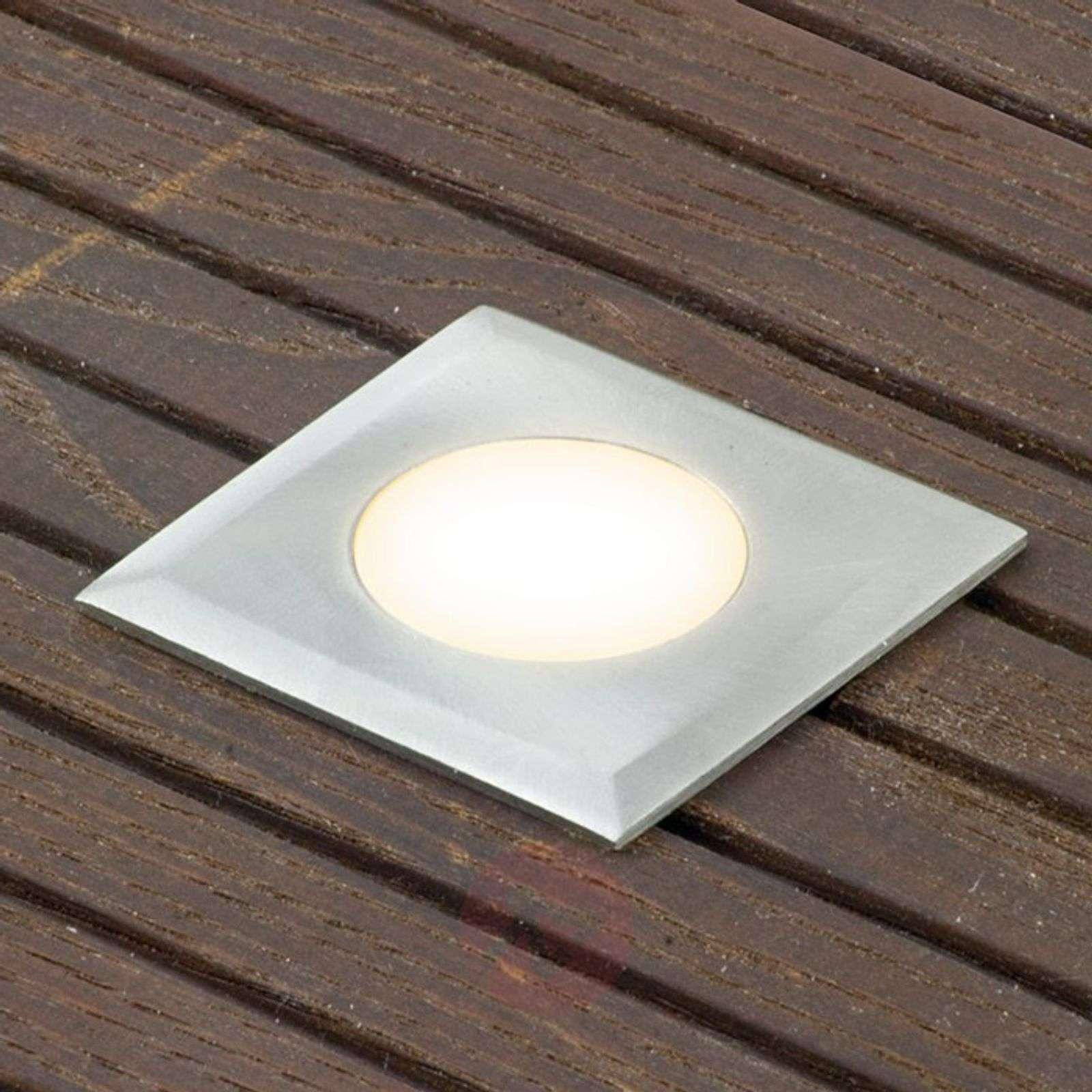 3-sarja LED-uppospotti Nürnberg III, kulmikas-9505882-01