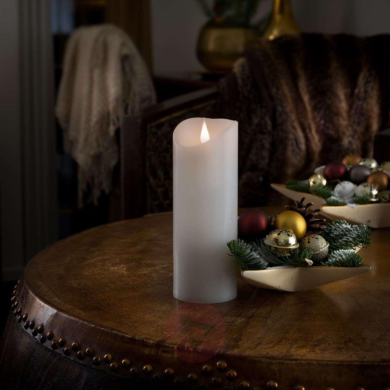 3D-liekillä varustettu LED-kynttilä Aito vaha-5524779-01