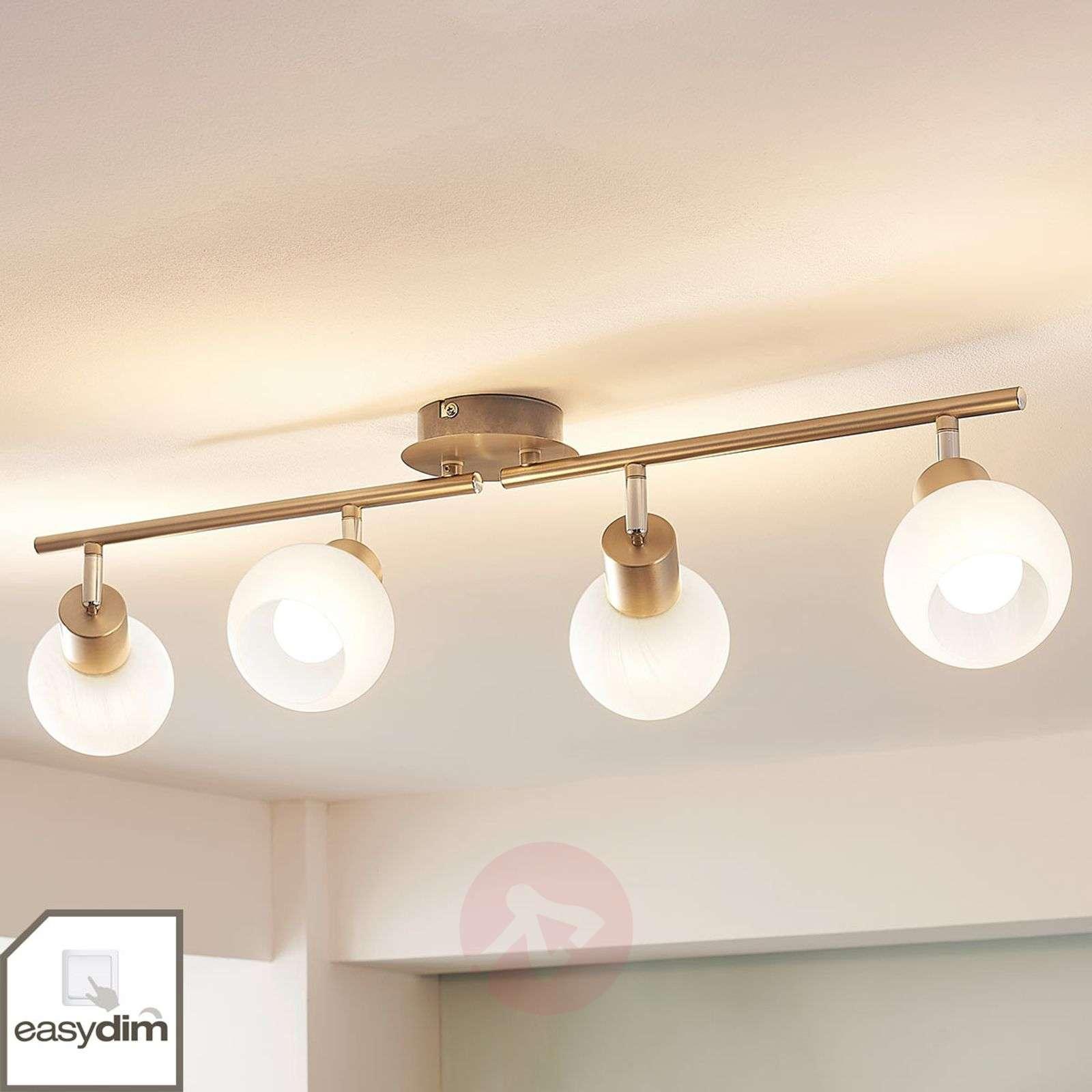 4-lamppu-LED-kattovalaisin Tanos, himmennettävä-9621564-02