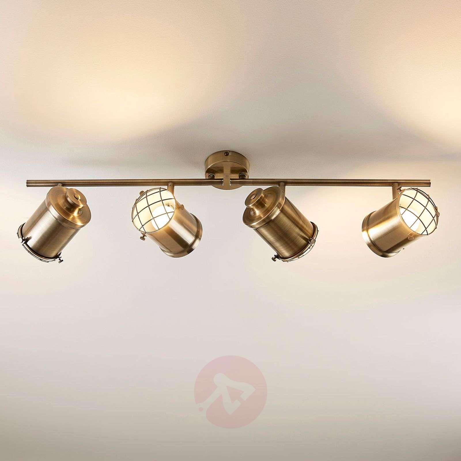 4-lamppuinen LED-kattovalaisin Ebbi, easydim-9621231-02