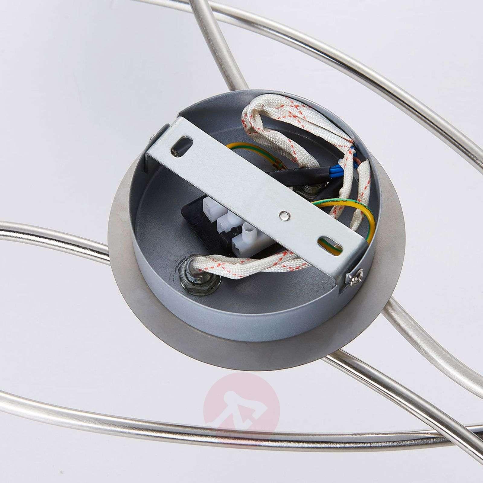 4-lamppuinen LED-kohdevalo Hailey, nikkeli-9621040-02