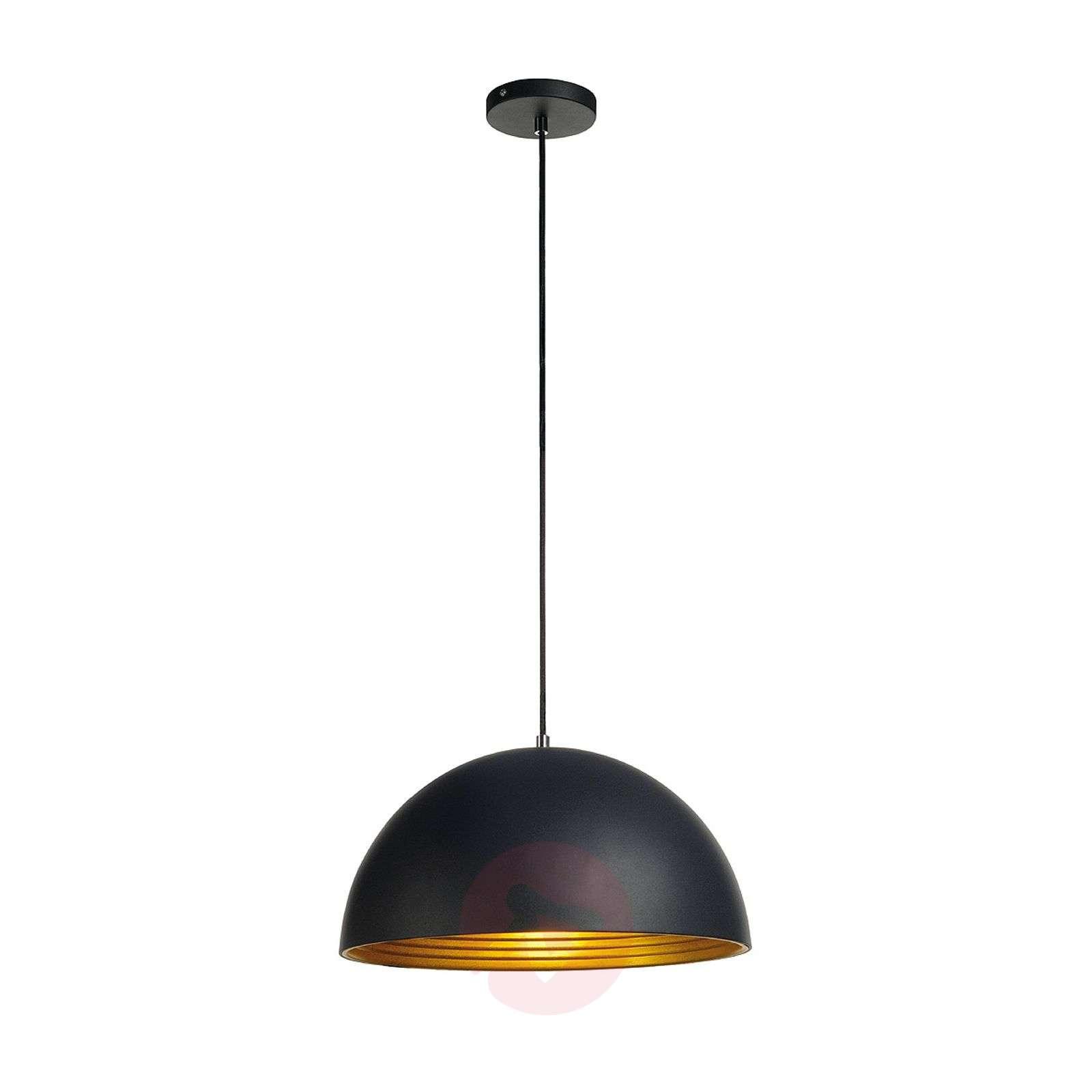 40 cm – Riippuvalaisin Forchini M musta ja kulta