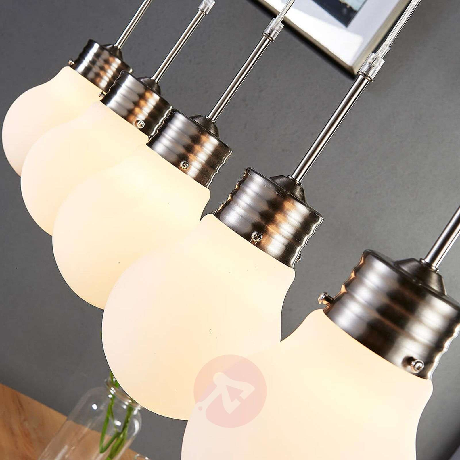 5-lamppuinen LED-riippuvalaisin Bado-9621131-02