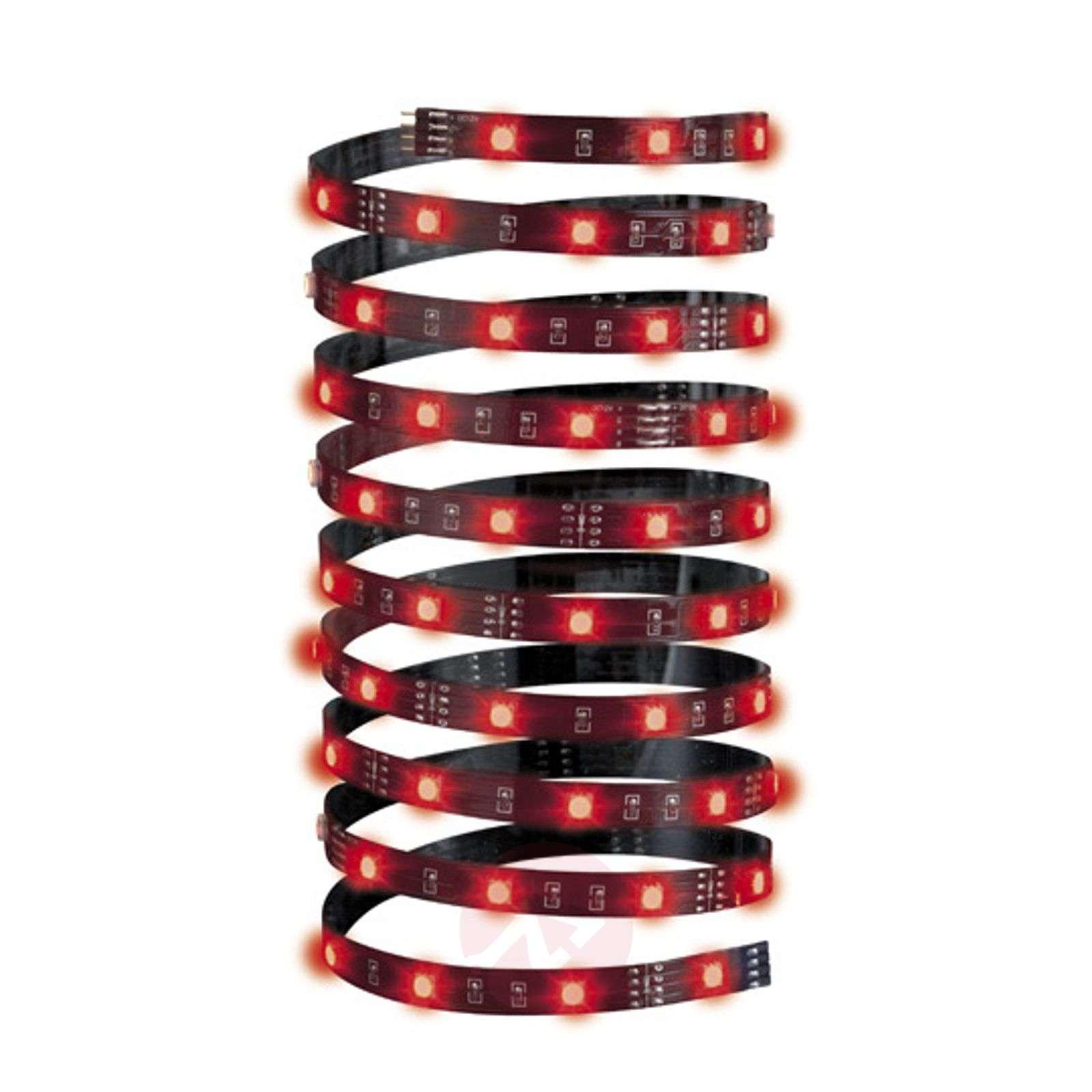 5m pitkä LED-nauha YourLED Eco, musta, RGB-7600744-01