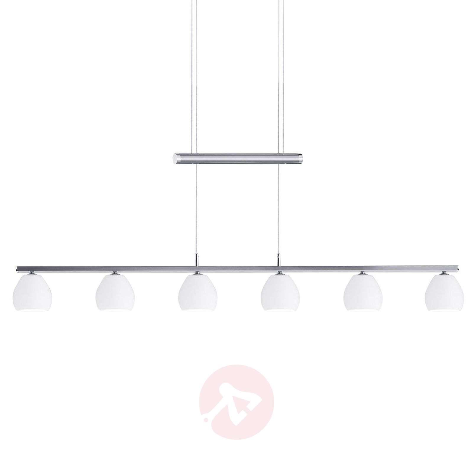 6-lamp. LED-riippuvalaisin Caliente, korkeussääd.-1554042-01