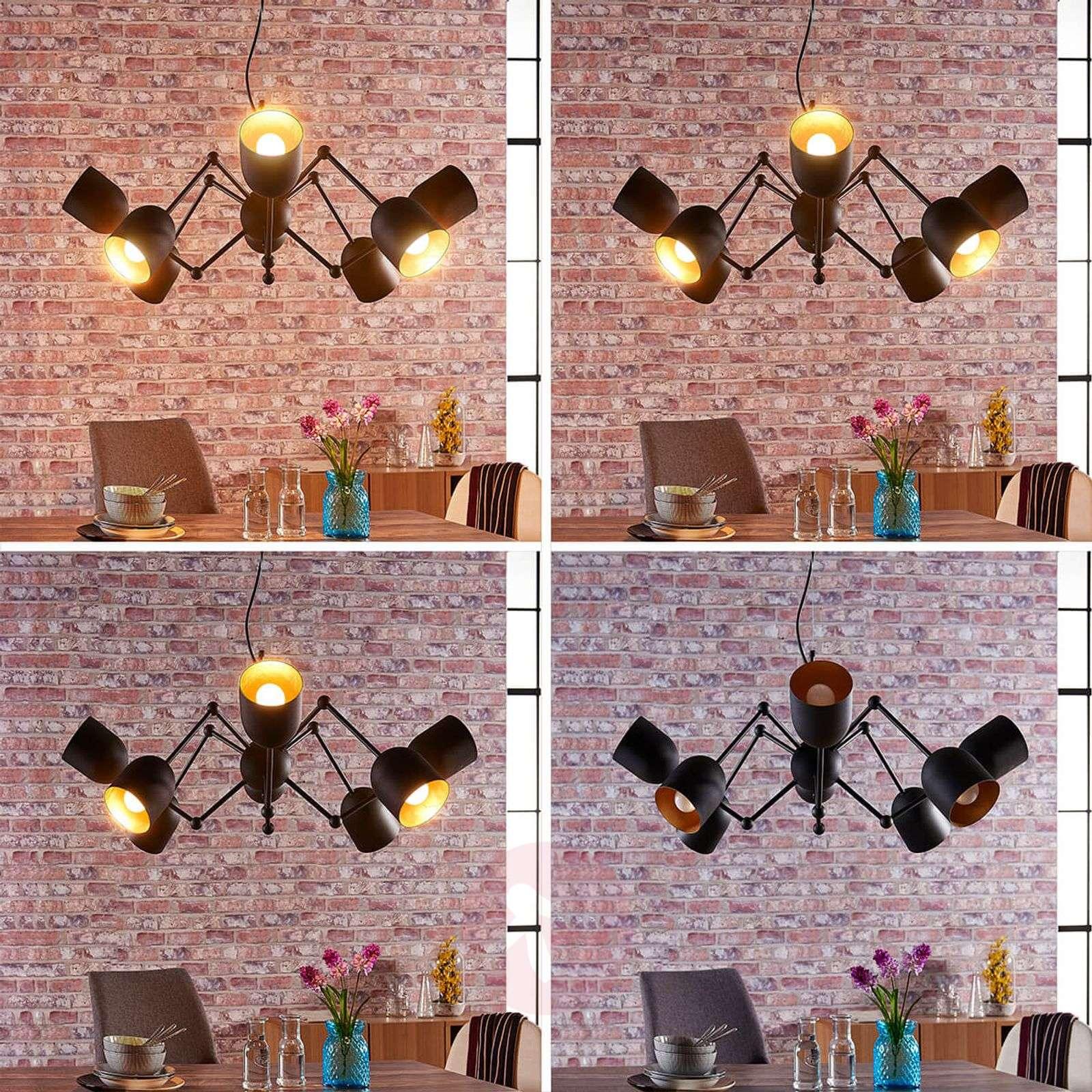 8-lamppuinen Morik LED-riippuvalaisin, easydim-9621243-02
