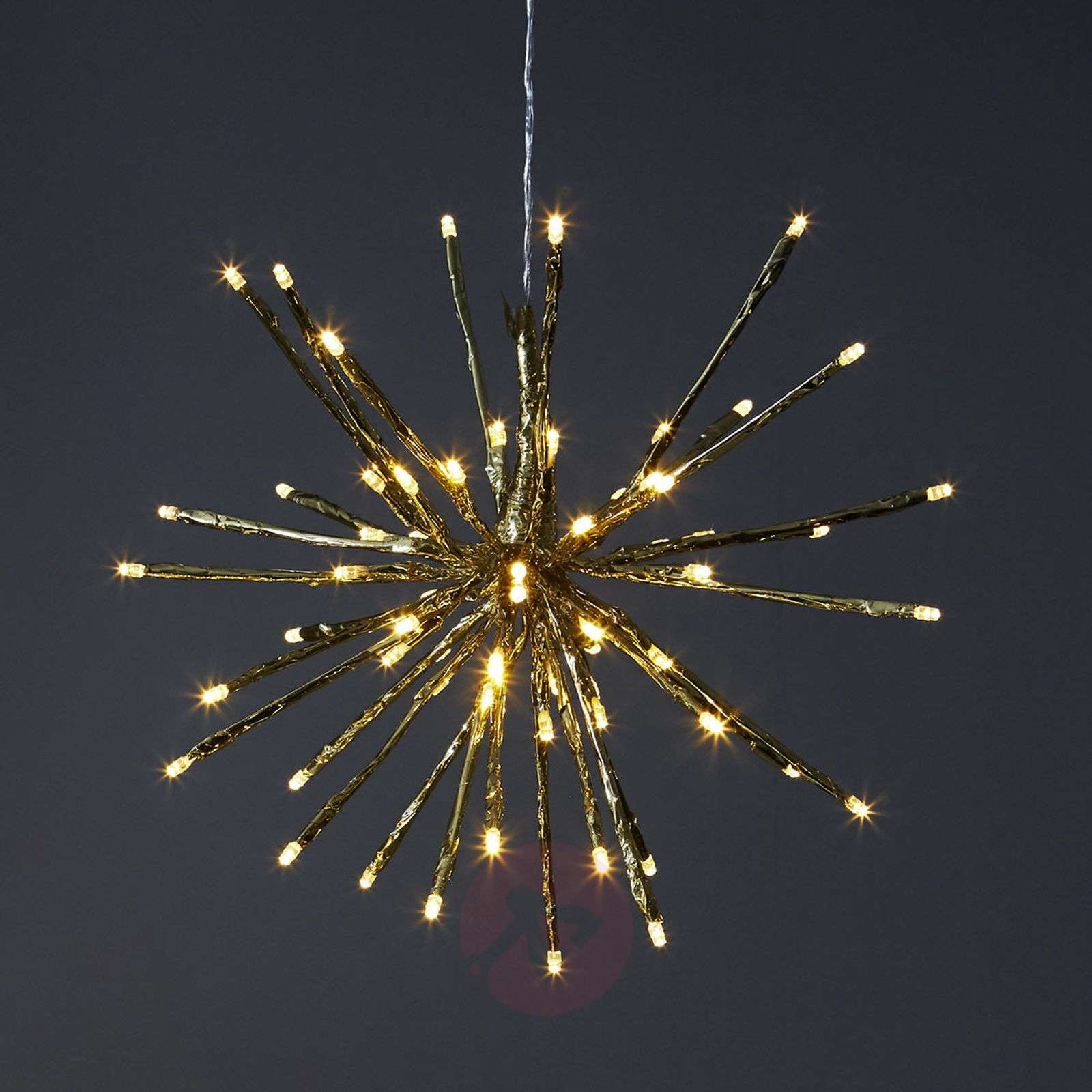 8 valovarianttia LED-koristevalaisin Firework-1523421X-01