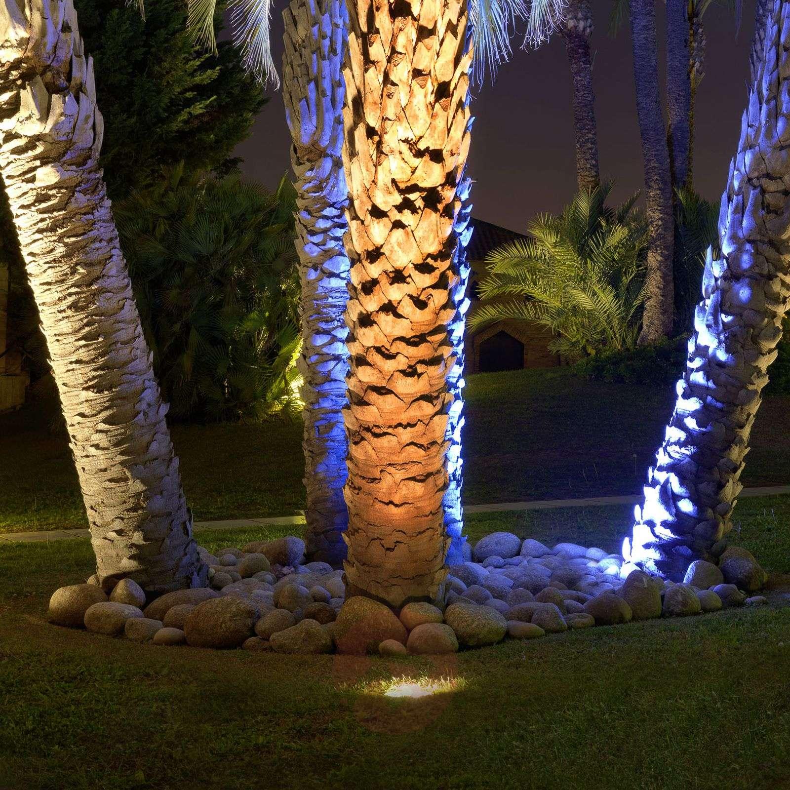 9 W:n upotettava LED-maaspotti Gea-6025631-01