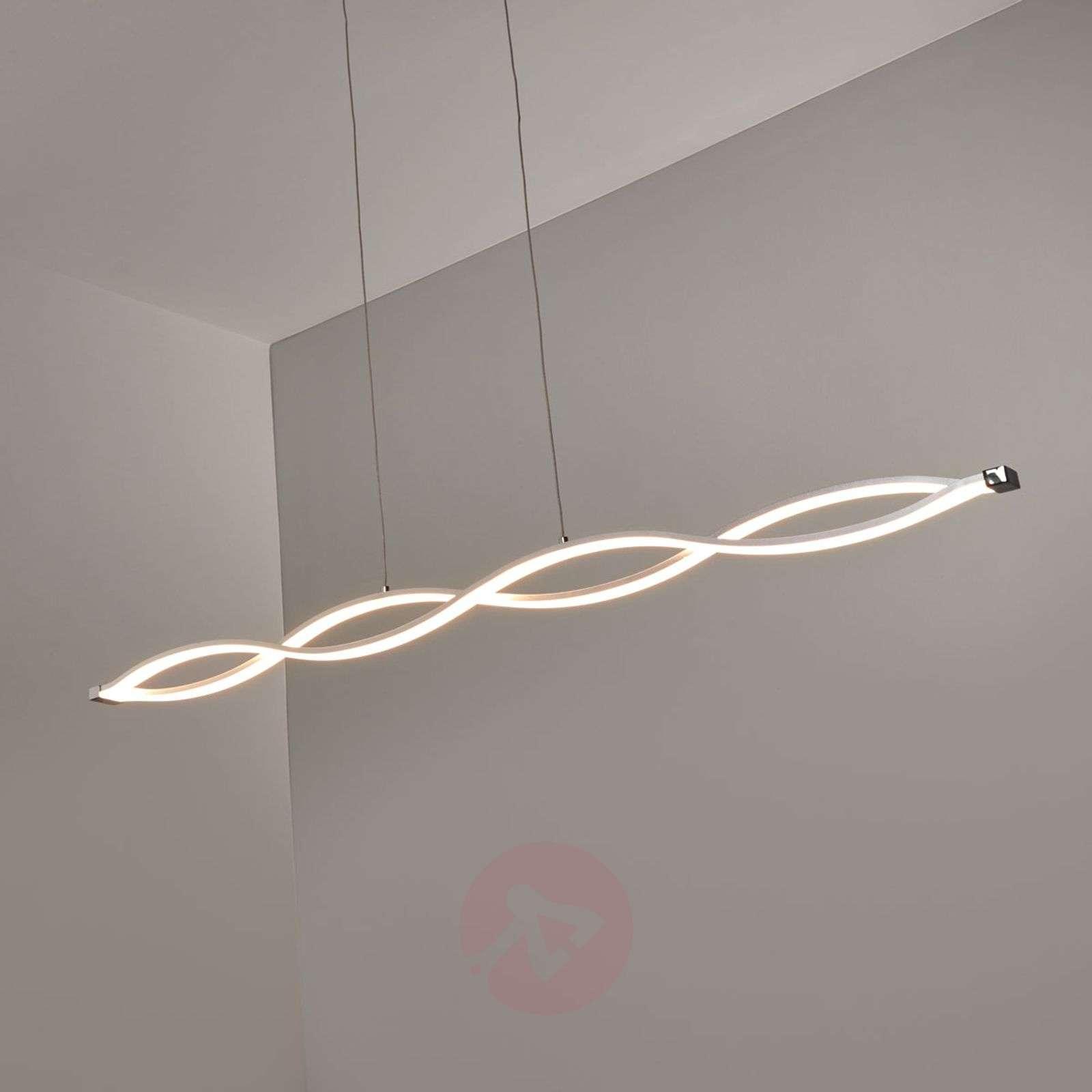 Aaltopintainen riippuvalaisin Tura LED-valoilla-9640063-020