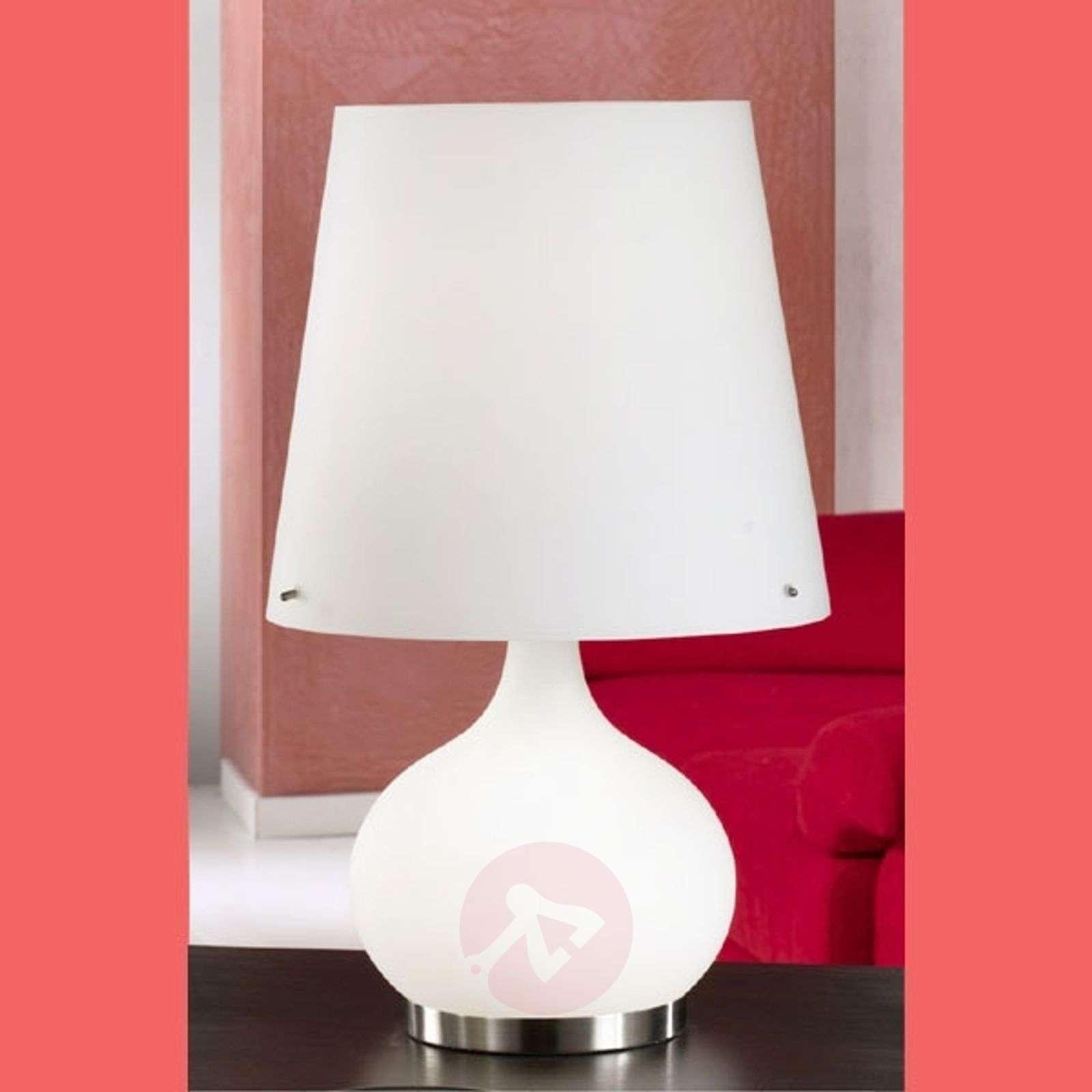 Ade-pöytävalaisin, valkoinen, 58 cm-3501131-01