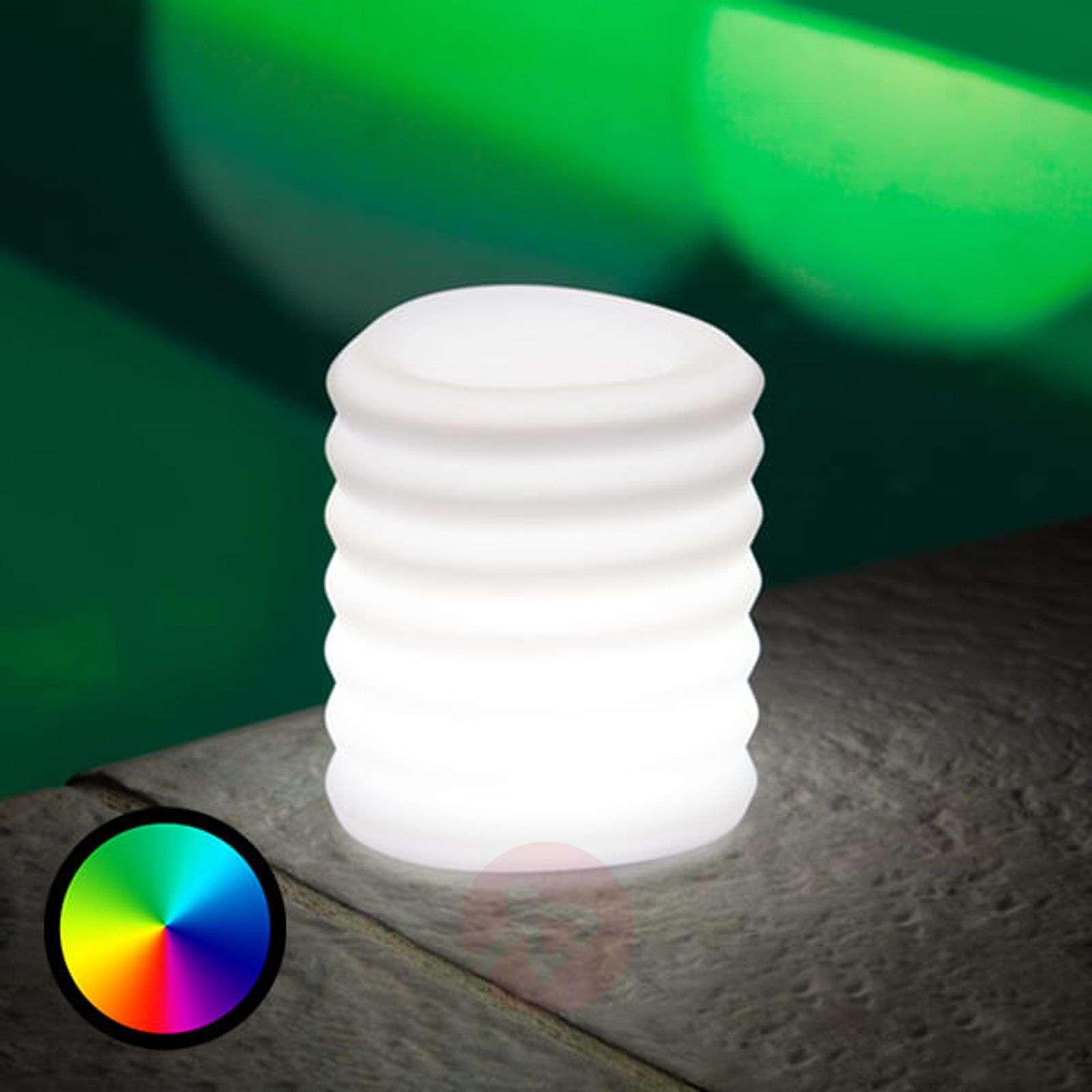 Älypuhelimella ohjattava Lampion-LED-koristevalo-8590026-01