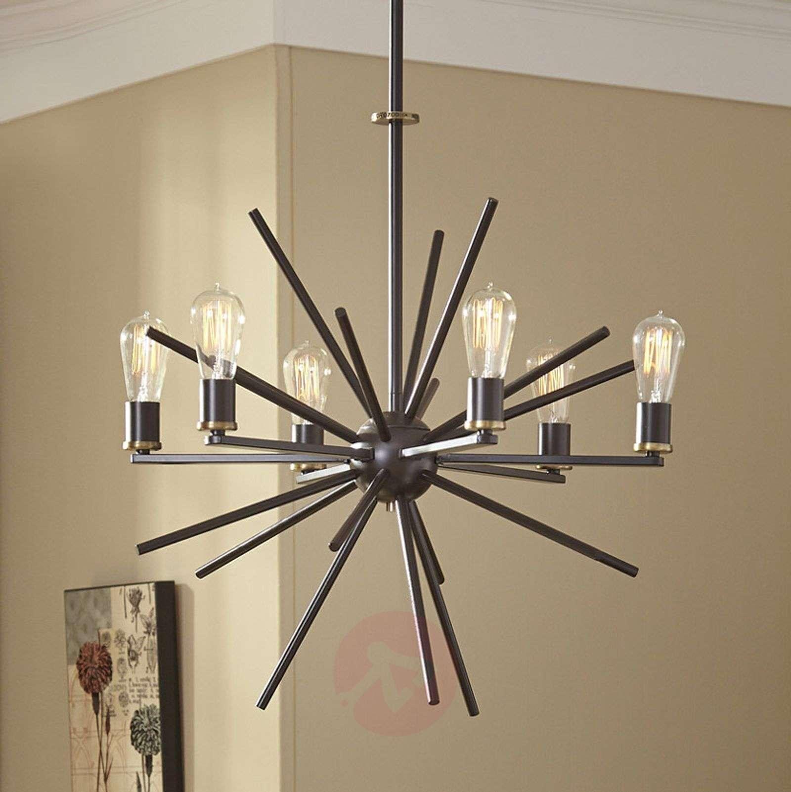 Ainutlaatuinen 8 lampun Carnegie-riippuvalaisin-3048274-01