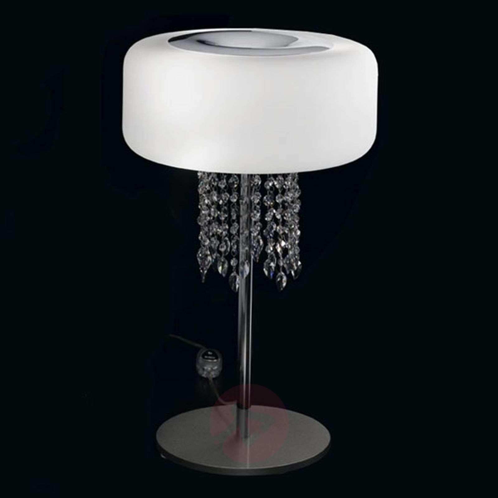 Ainutlaatuinen design-pöytävalaisin Amira, 35cm-5016284-01