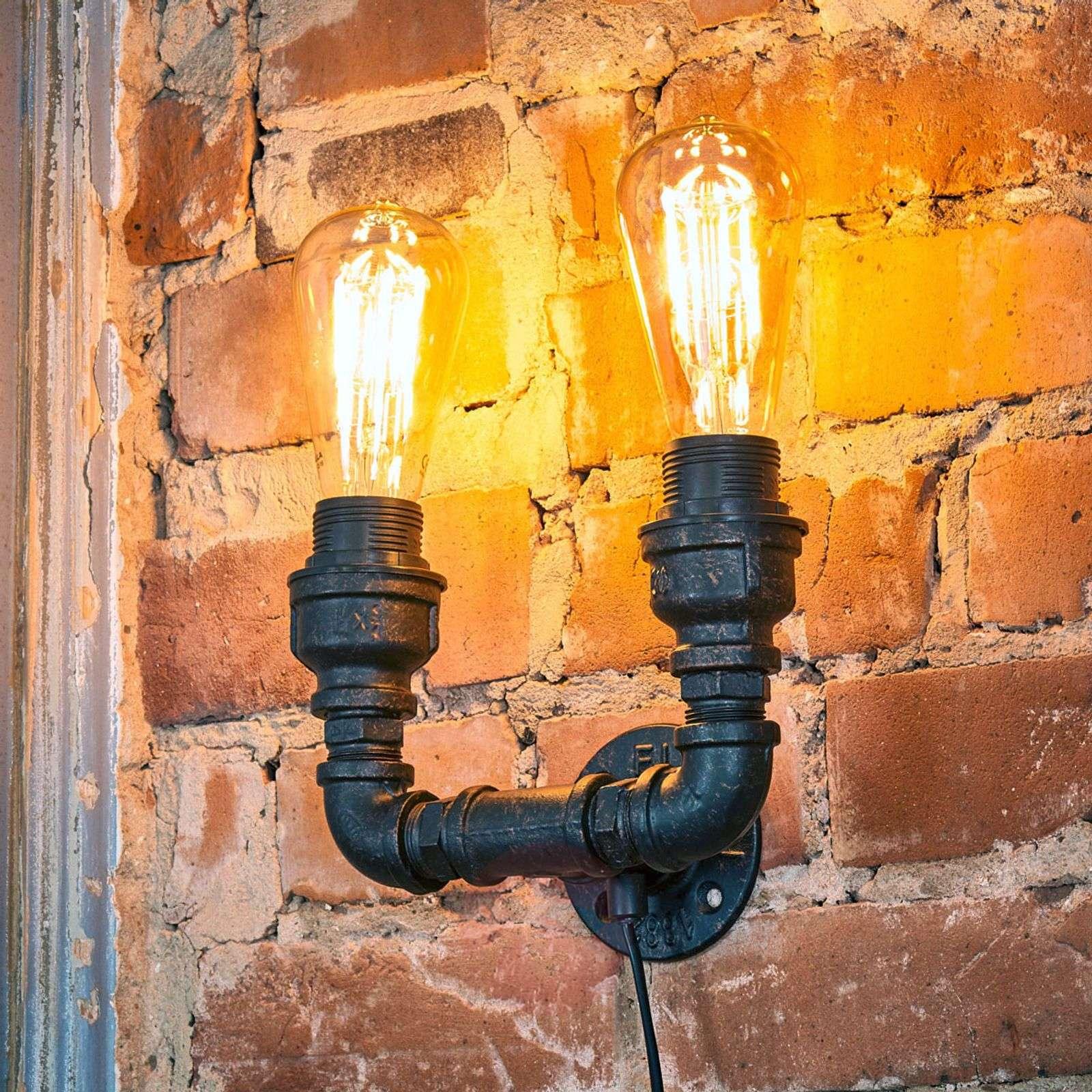Ainutlaatuinen seinävalaisin Tap vintage-tyylillä-9634046-02
