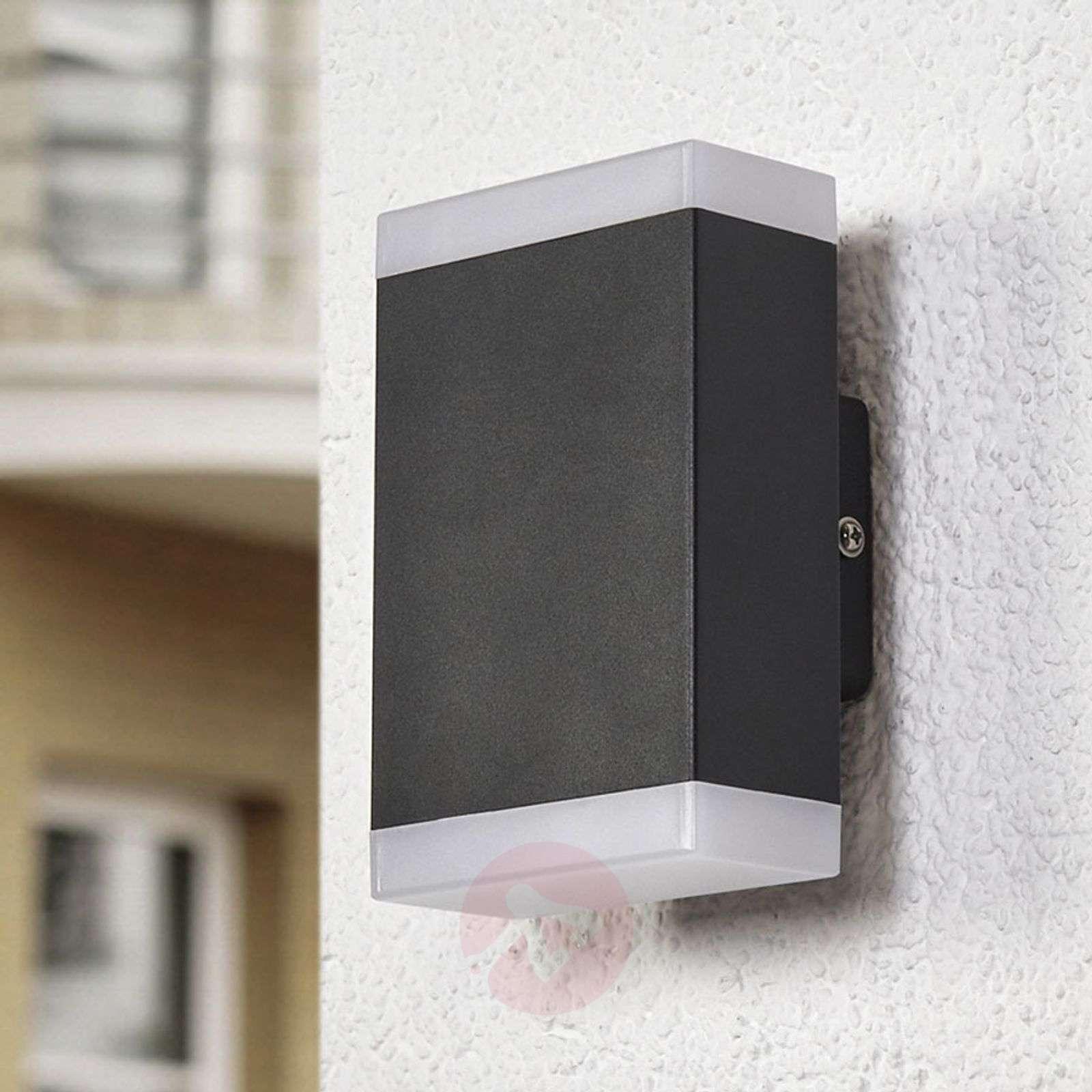Ajaton LED-seinävalaisin Aya ulkokäyttöön, IP44-9988101-02