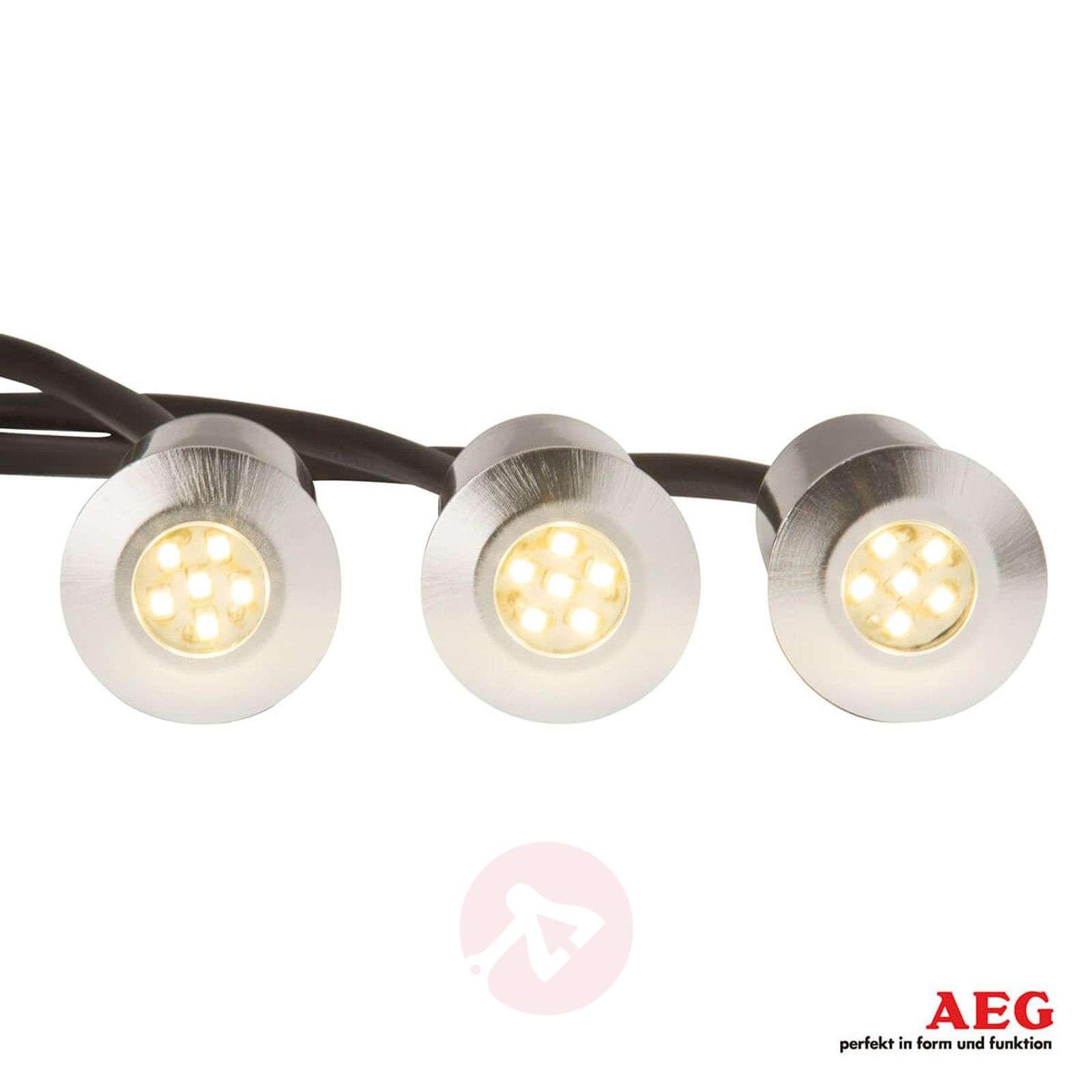 Albedo upotettava LED-maaspotti 3-osainen-3057112-01