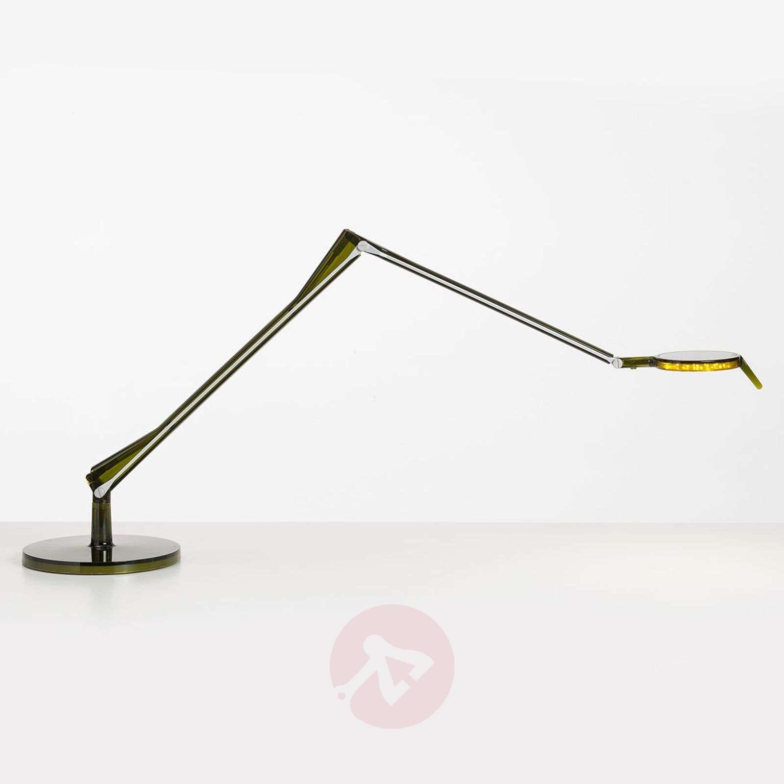 Aledin Tec – nivelletty LED-pöytävalaisin, vihreä-5541003-01