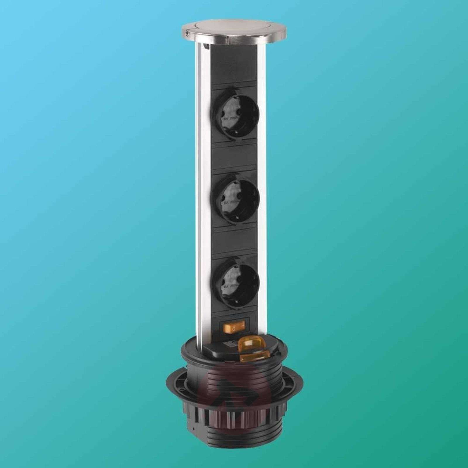Alumiininen PopUp-haaroitin, suko-3025198-01