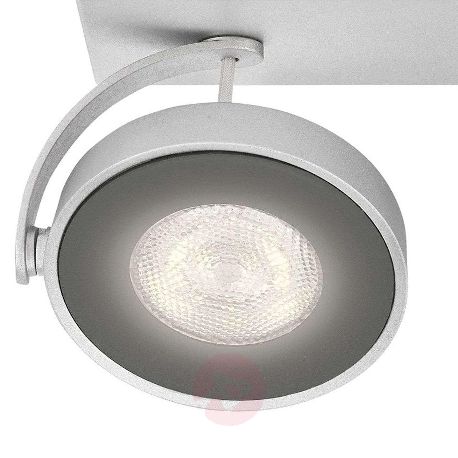 Alumiininvärinen LED-kattovalaisin Clockwork-7531740-01