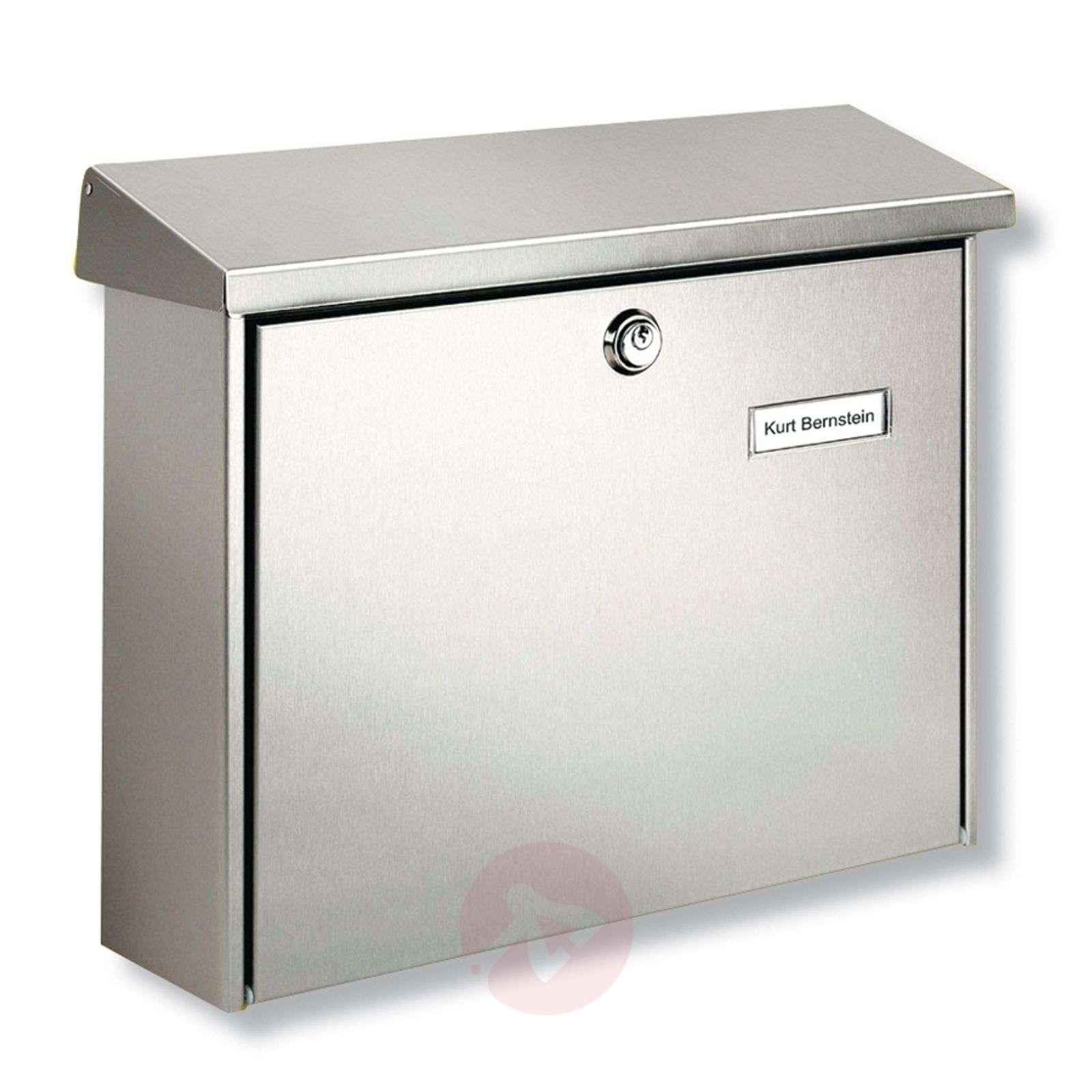 Amrum-teräspostilaatikko suojalakkauksella-1532029-01