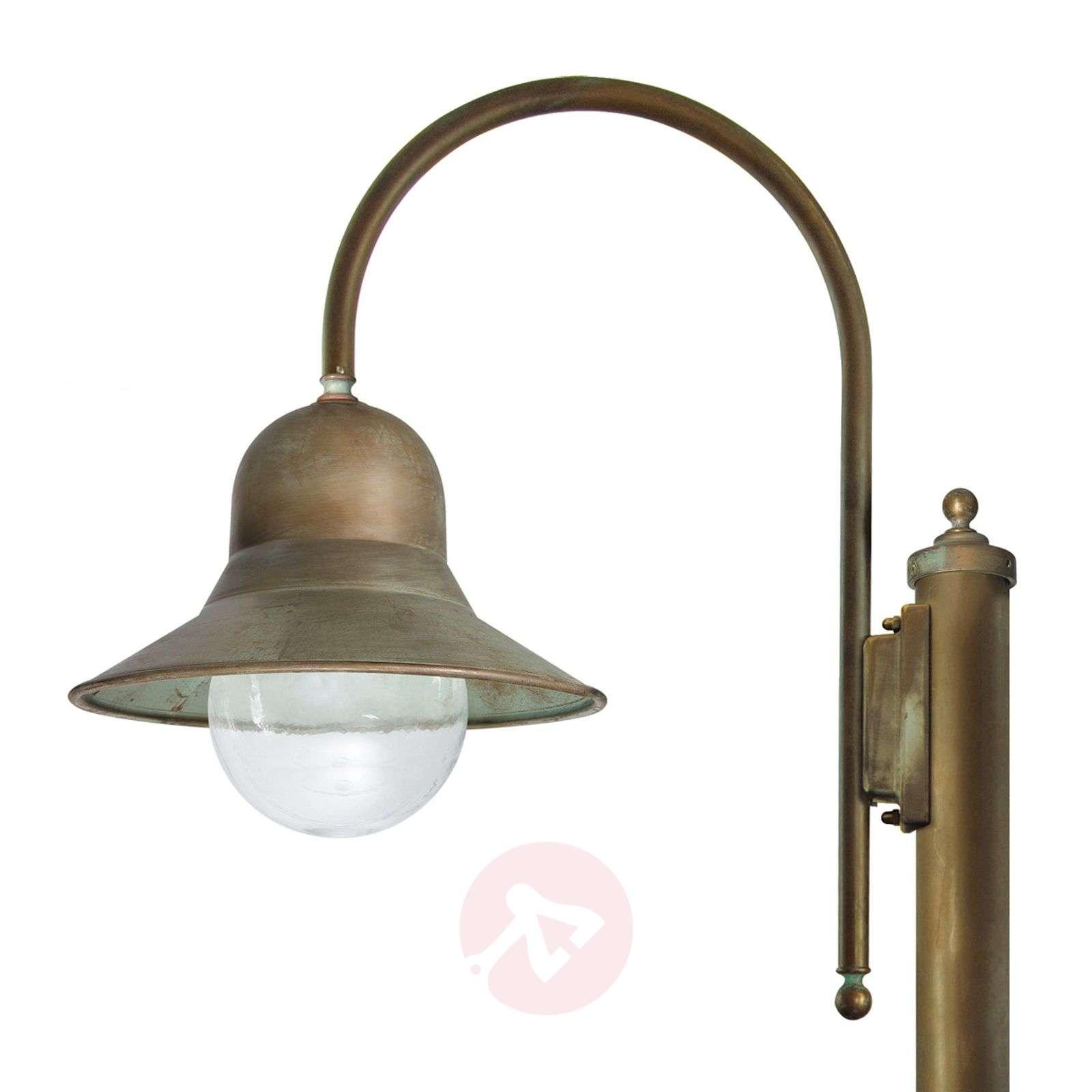Antiikkimessinkinen Felizia-lyhtypylväs, 270 cm-6515296-01