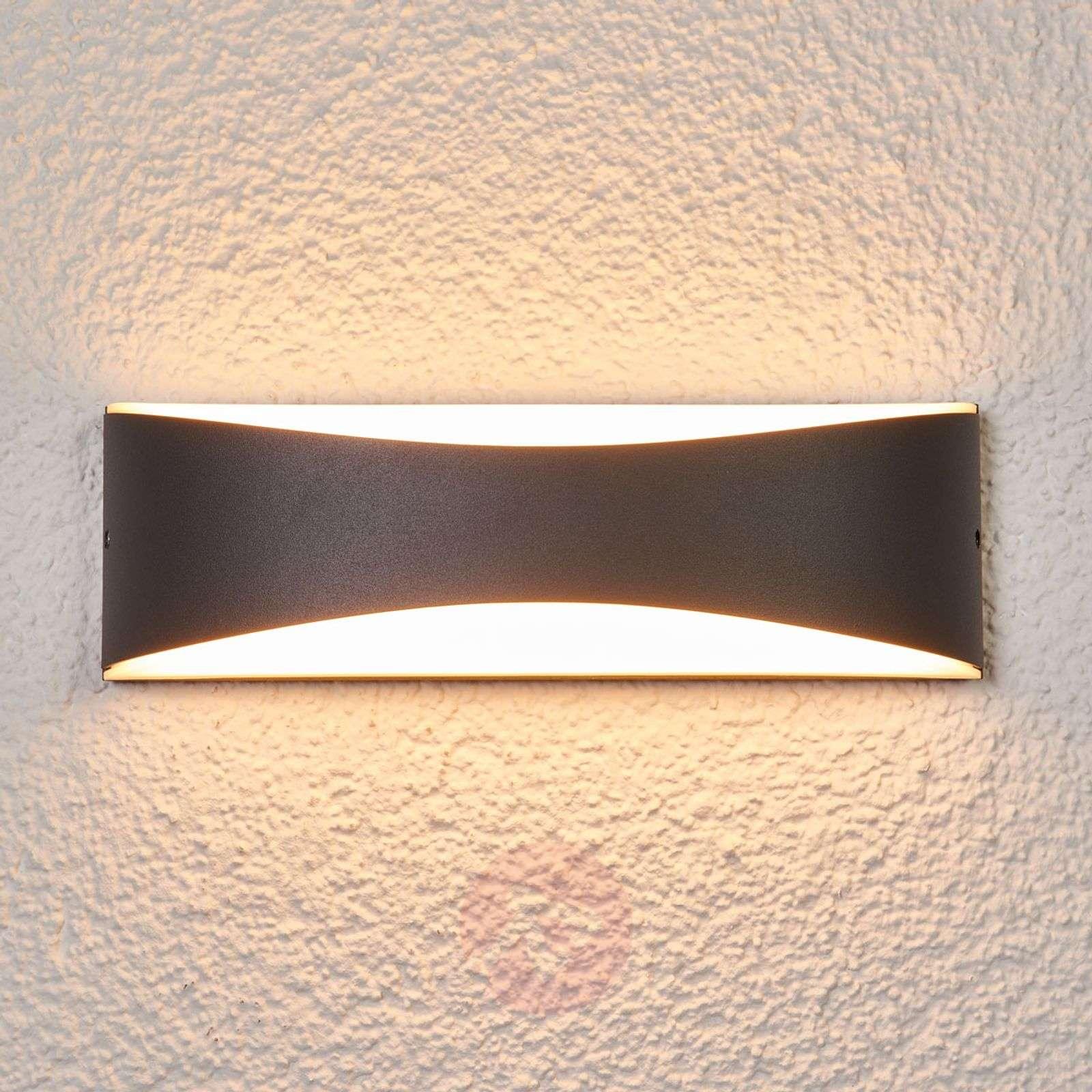 Antrasiitinvärinen Akira-ulkoseinävalaisin LED-9617034-02