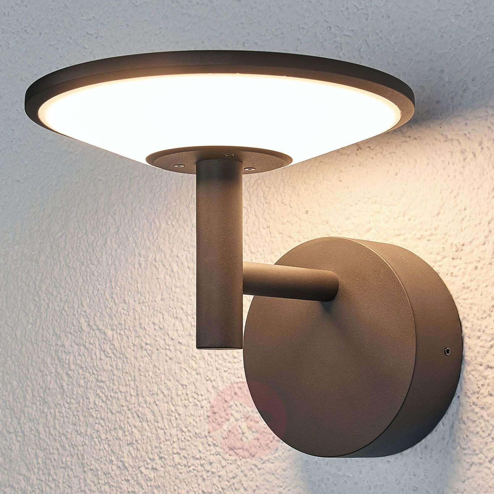 antrasiitinvärinen LED-ulkoseinävalaisin Fenia-9619130-021