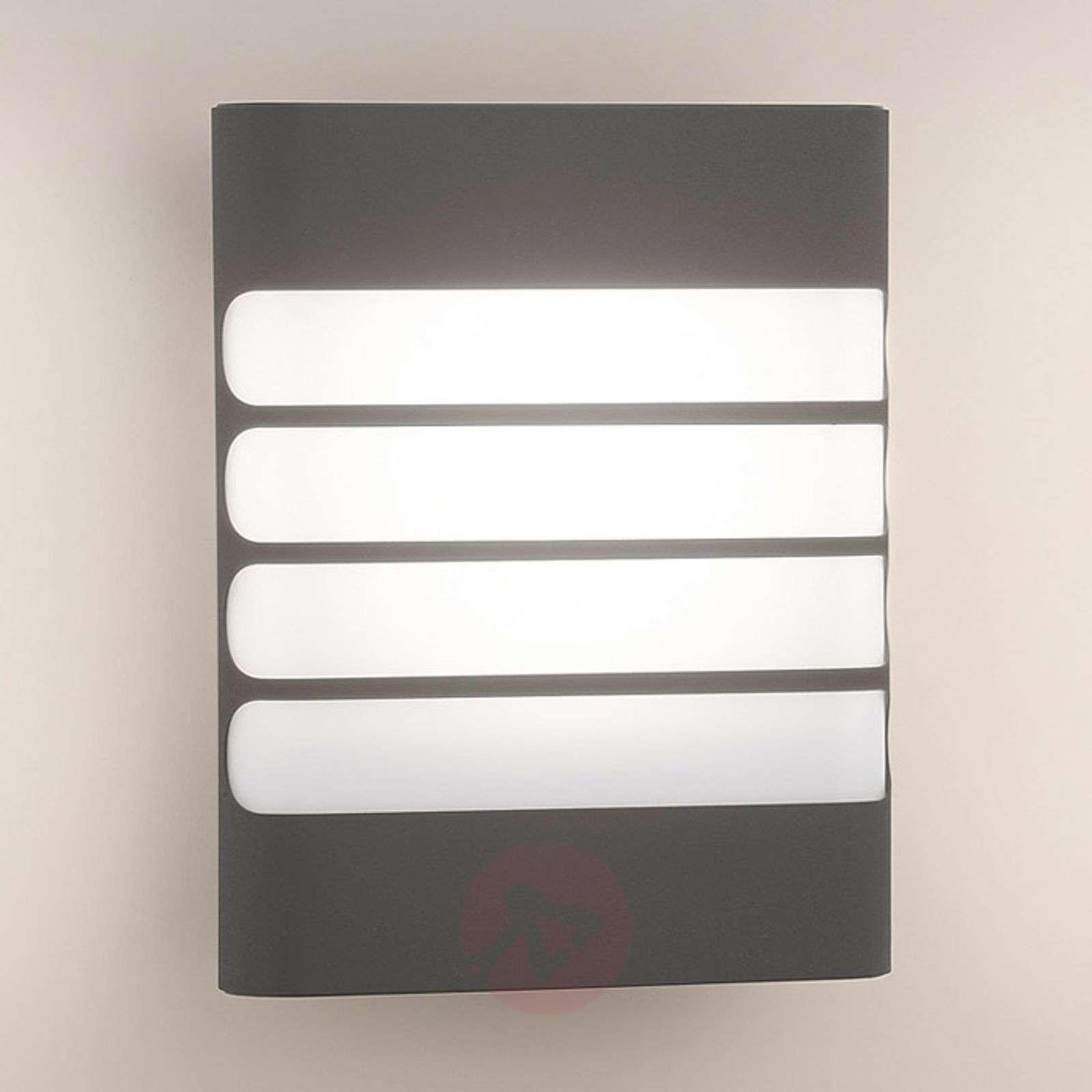 Antrasiitinvärinen LED-ulkoseinävalaisin Raccoon-7531565-01