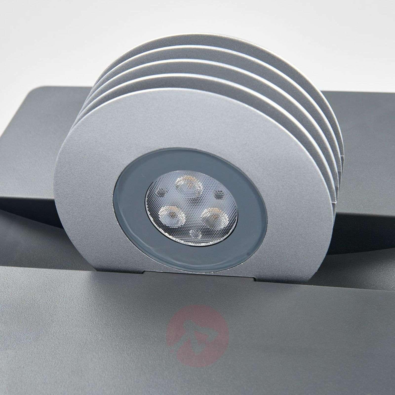 Antrasiitinvärinen Split-LED-ulkoseinävalaisin-3006217-01