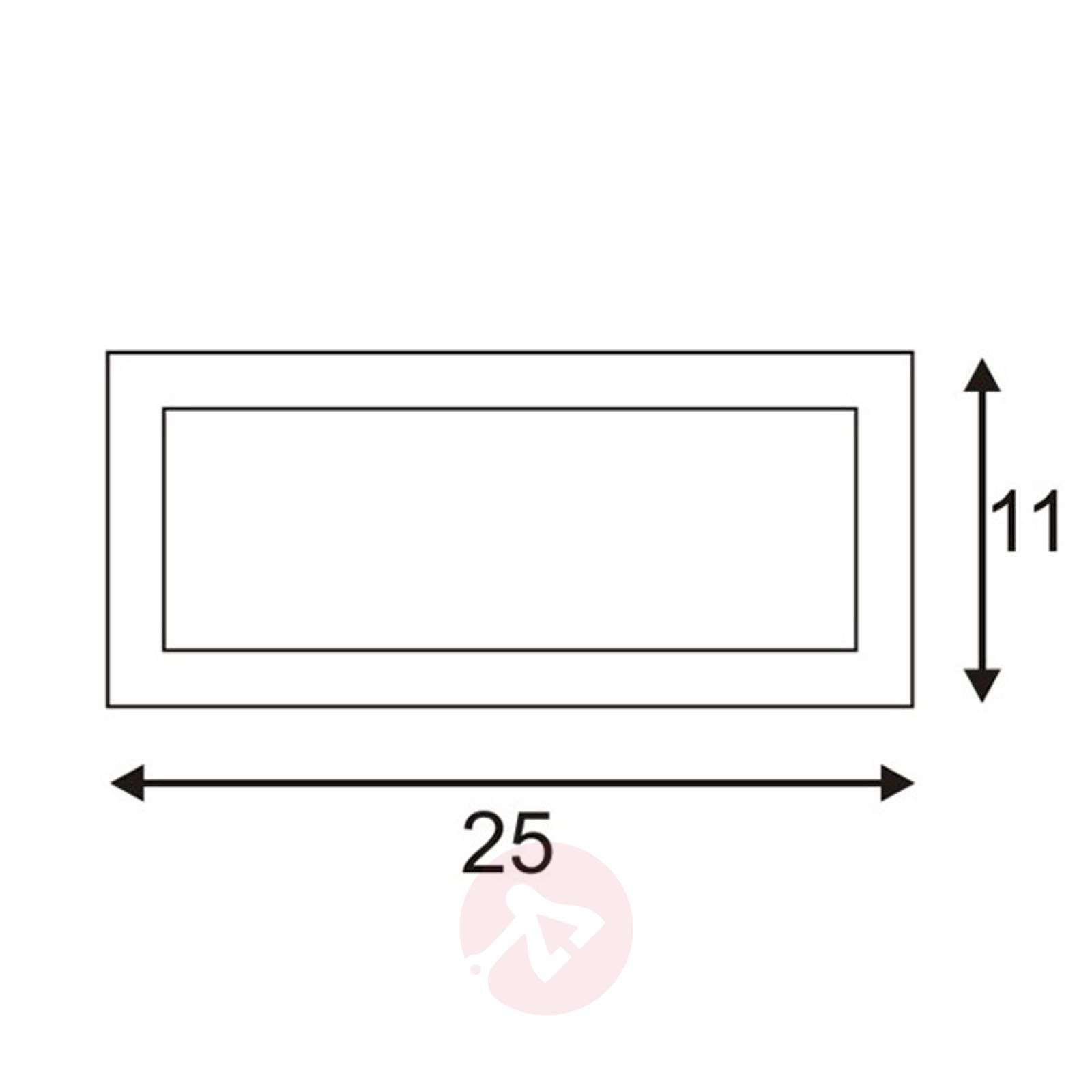 Antrasiitinvärinen ulkoseinävalaisin Box L E27-5504497-01