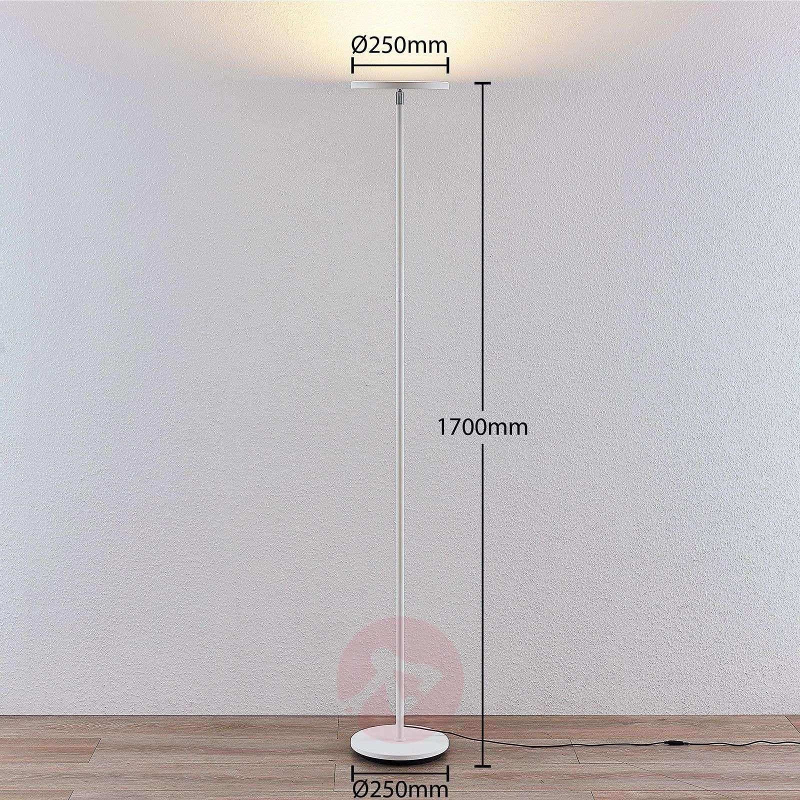 Arcchio Manon LED-lattiavalaisin, valkoinen-9966040-02