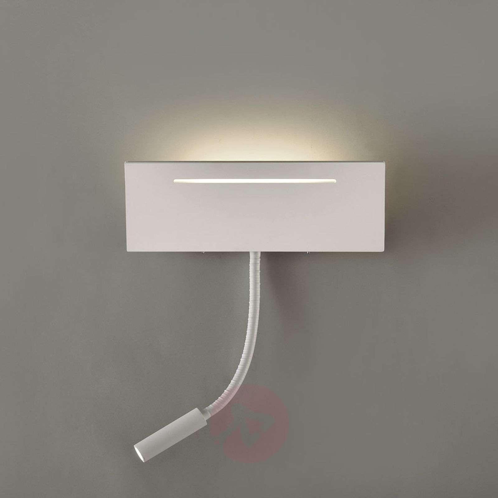 Ariel – valkoinen LED-seinävalaisin ja lukuvalo-1050147-01