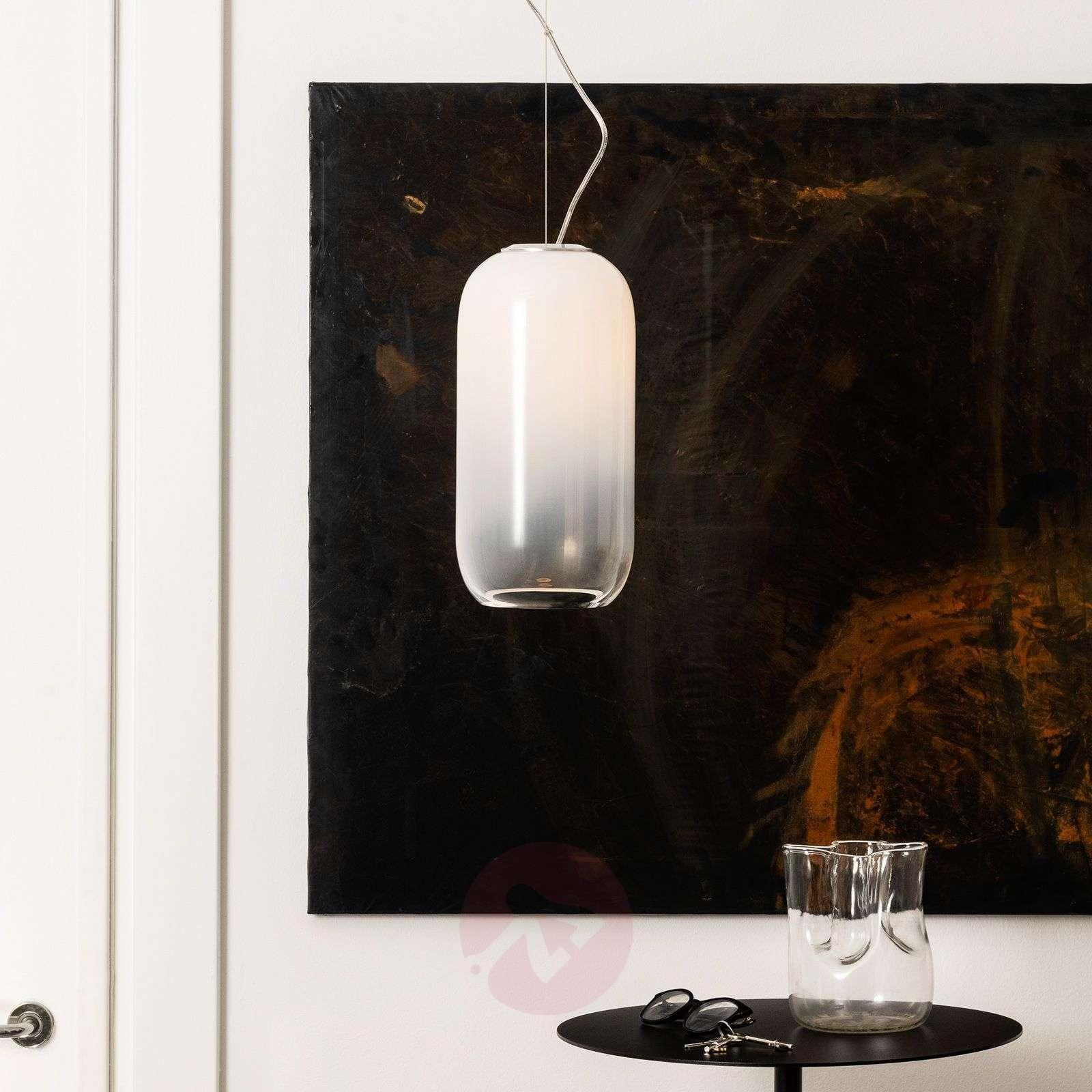 Artemide Gople lasinen riippuvalaisin, valkoinen-1060216-01